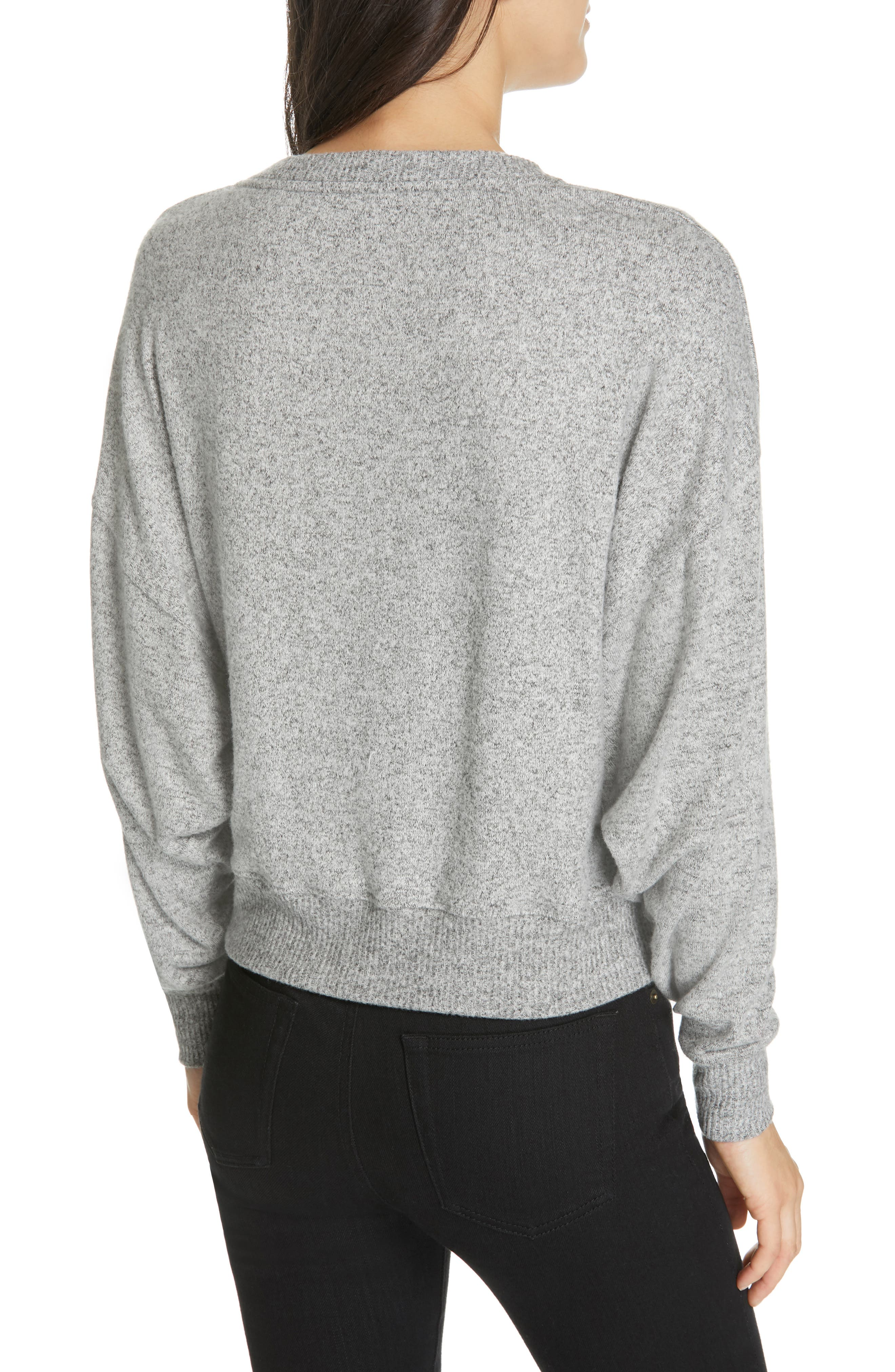 Yerrick Sweater,                             Alternate thumbnail 2, color,                             HEATHER GREY