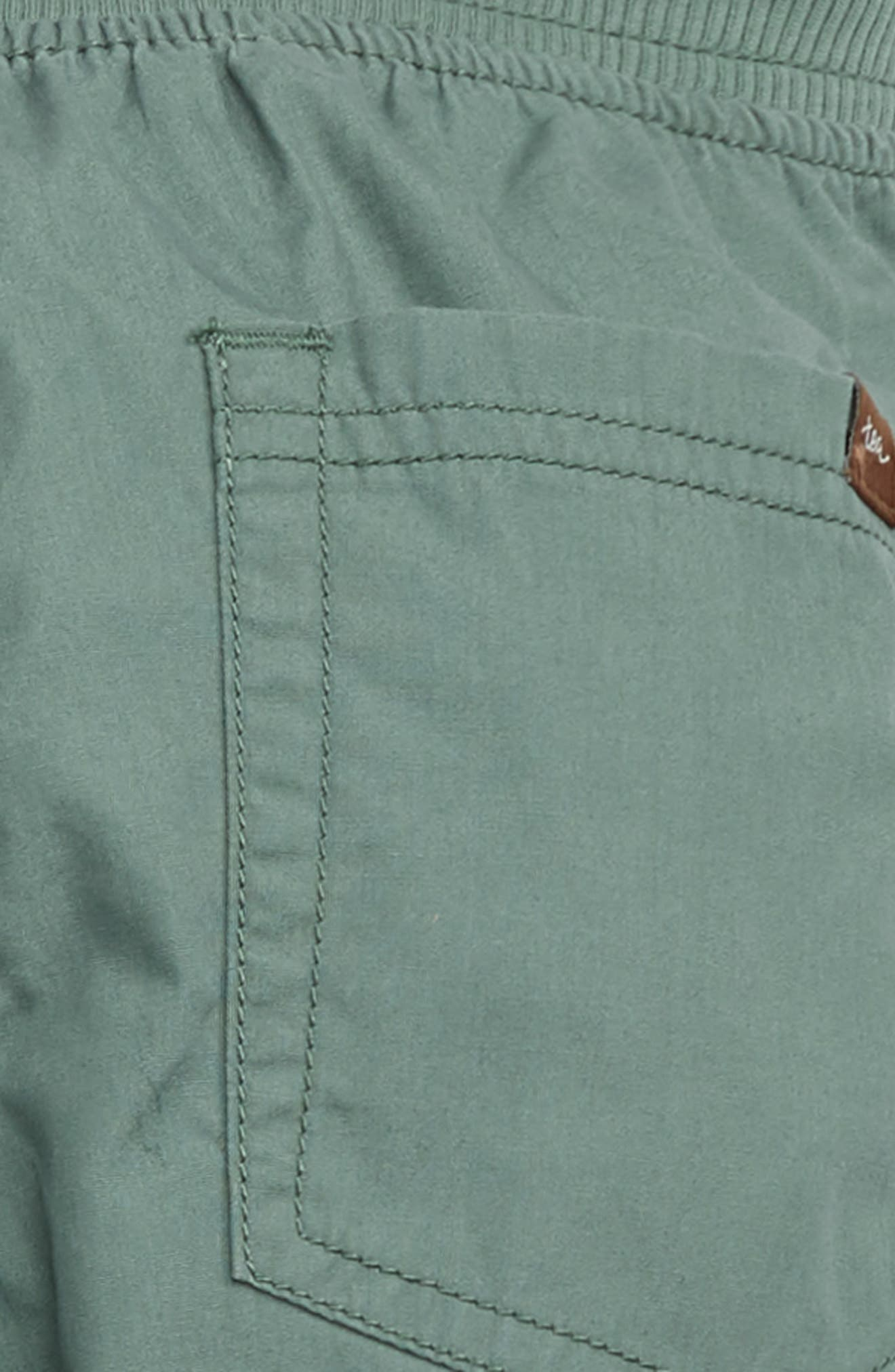Lined Pants,                             Alternate thumbnail 3, color,                             FOLIAGE