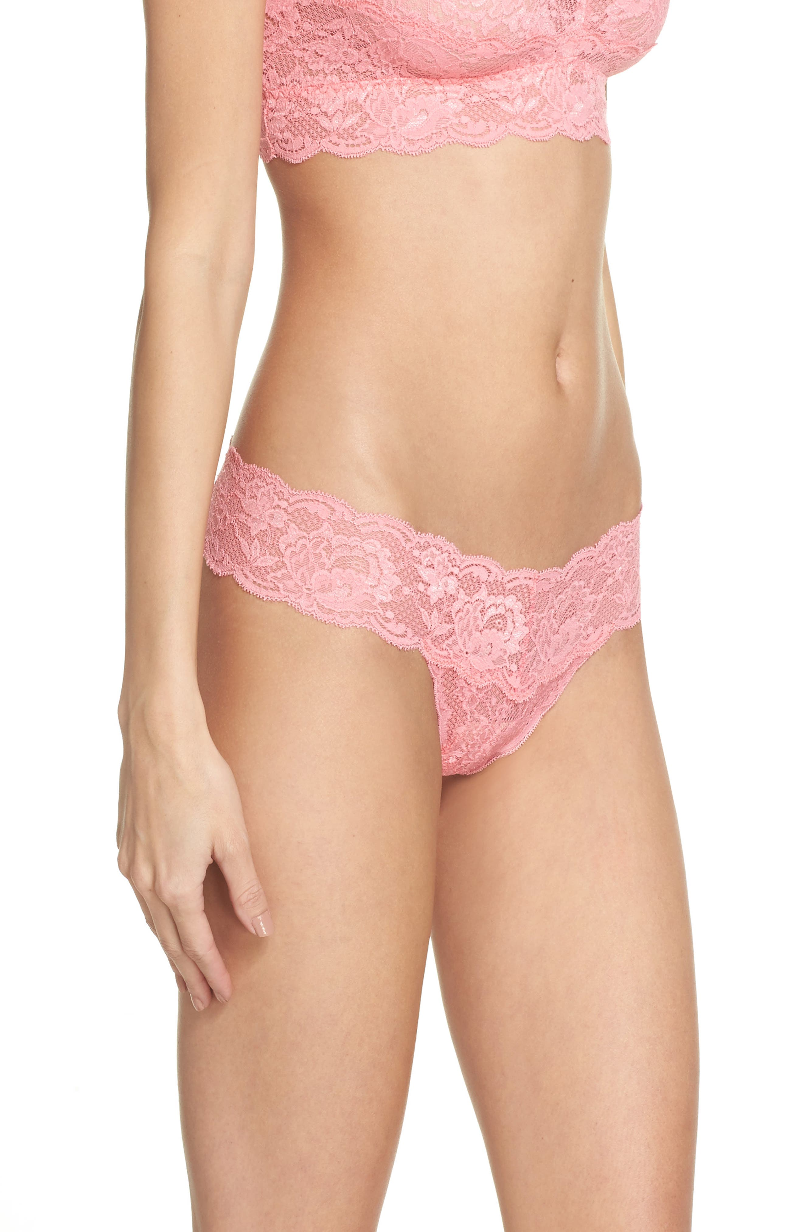 'Never Say Never Cutie' Thong,                             Alternate thumbnail 264, color,