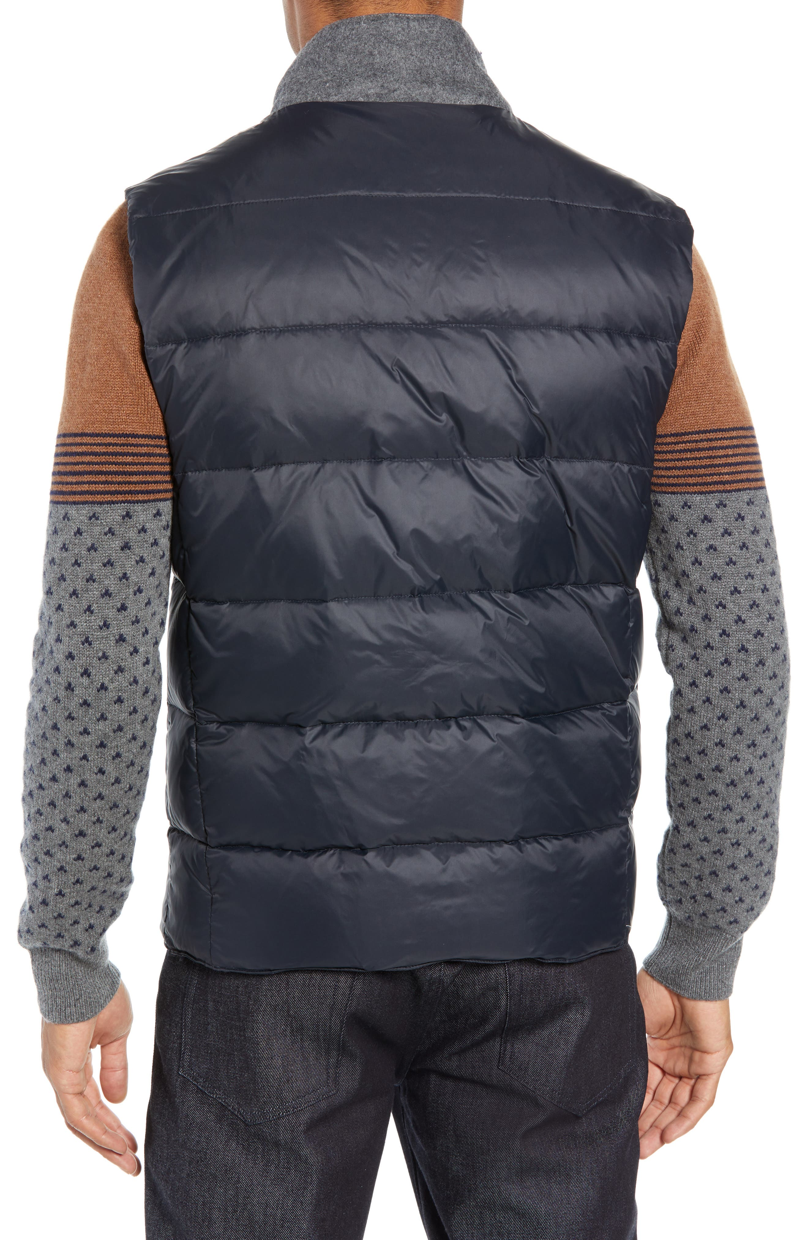 Quilted Vest,                             Alternate thumbnail 2, color,                             NAVY