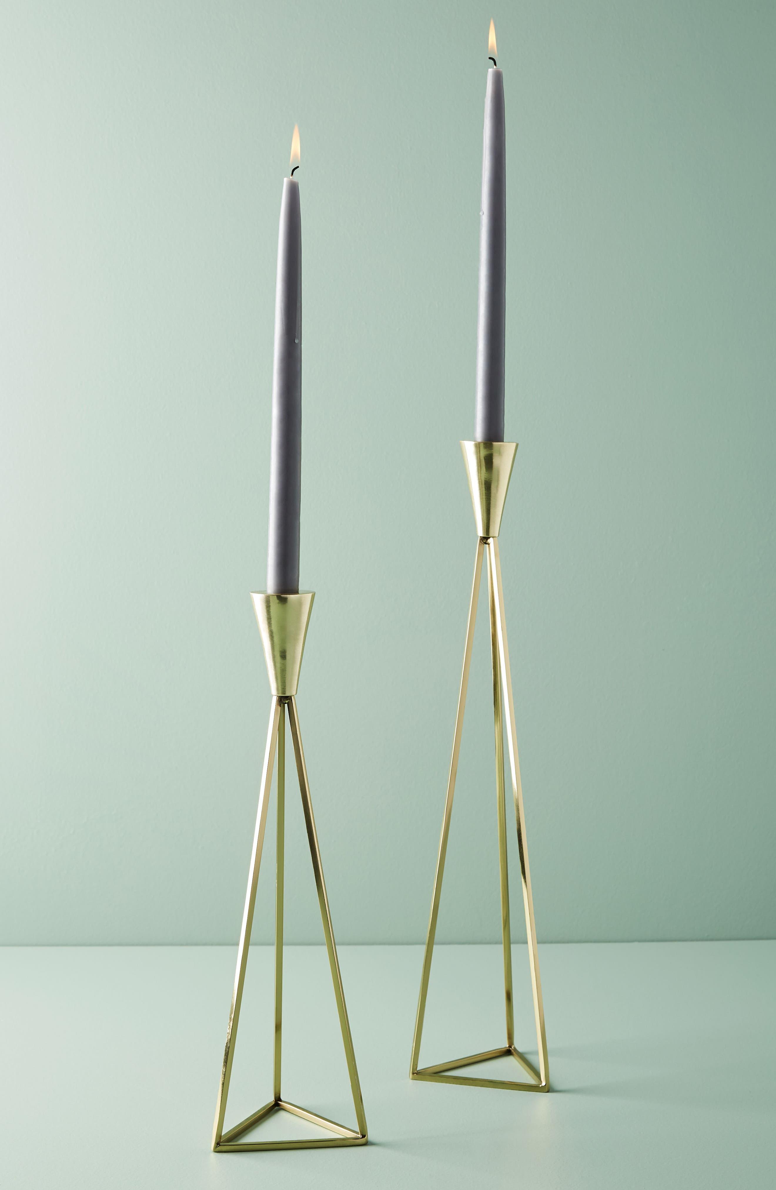 Akimbo Taper Candleholder,                         Main,                         color,