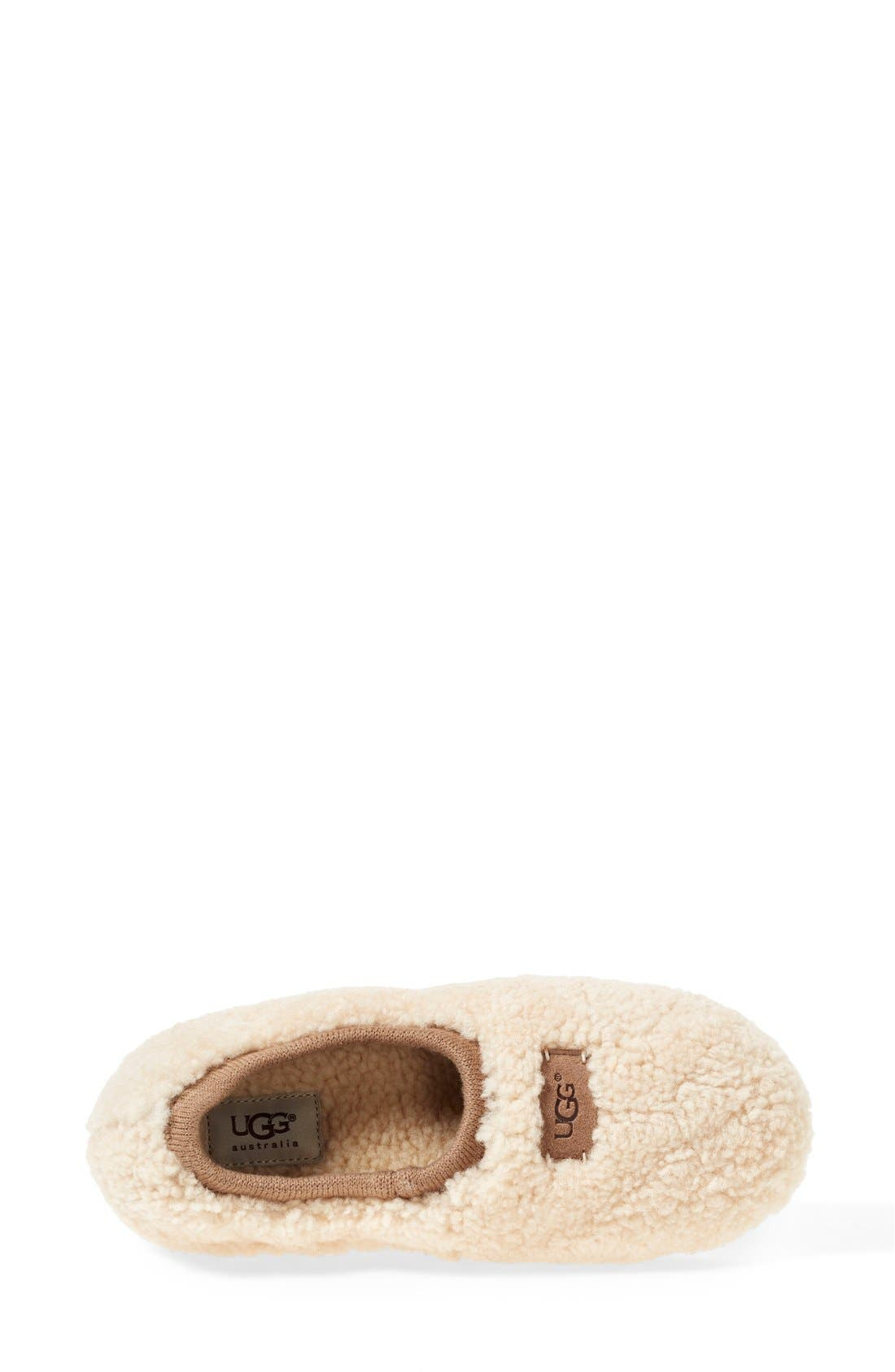Birche Slipper,                             Alternate thumbnail 3, color,                             NATURAL