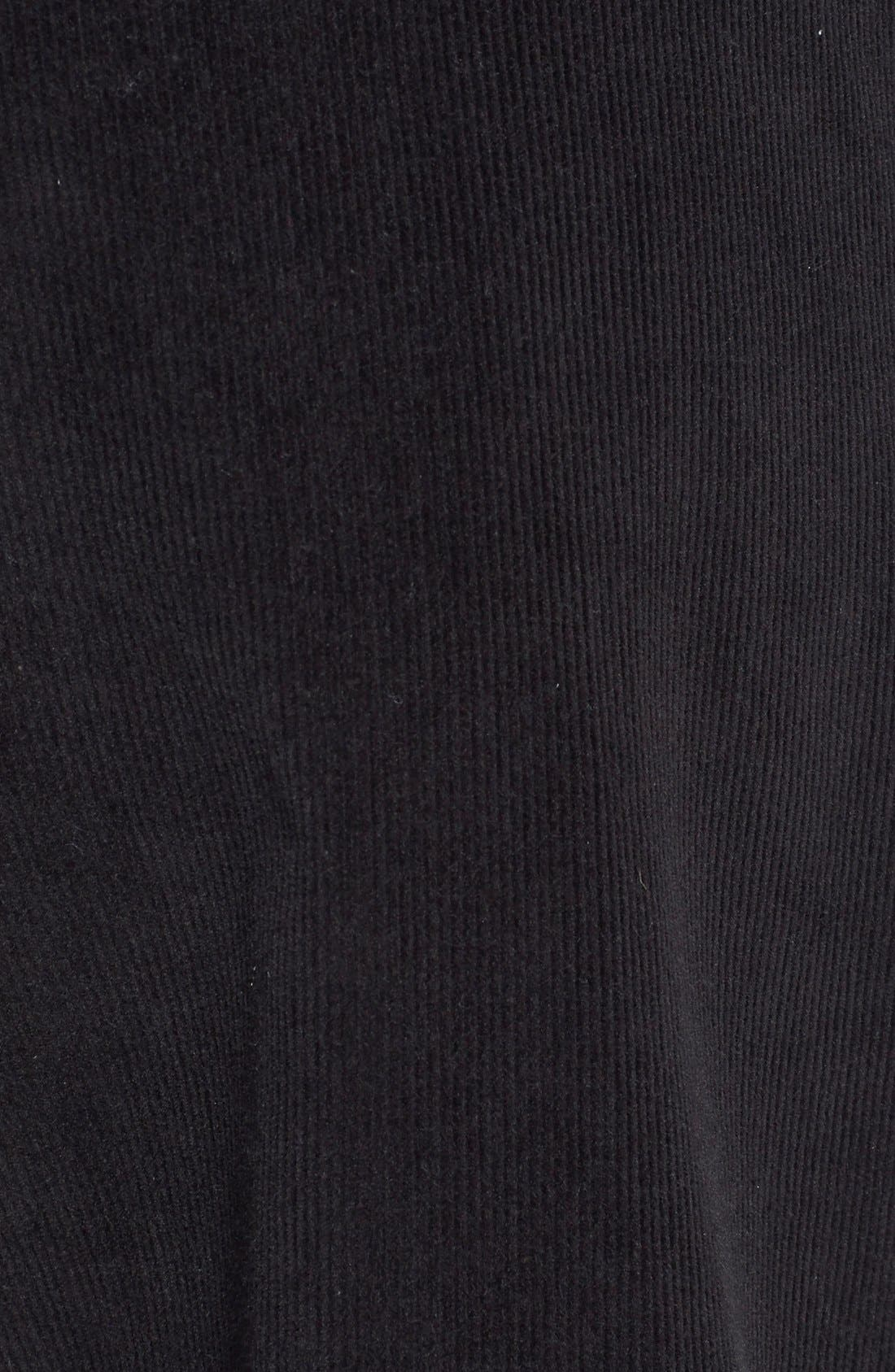 'Walker' Flat Front Straight Leg Corduroy Pants,                             Alternate thumbnail 2, color,                             001