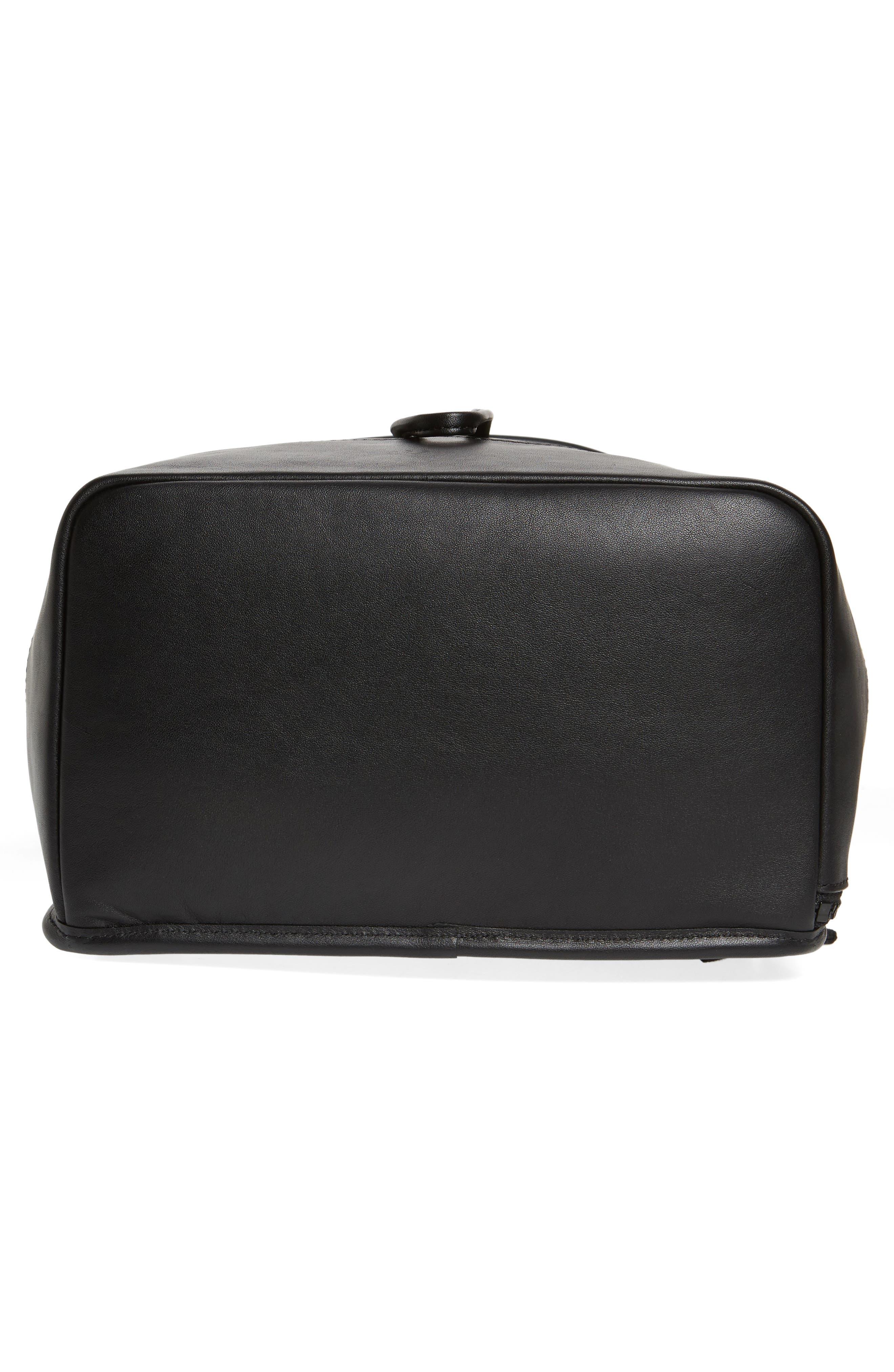 Parkville Hattie Leather Backpack,                             Alternate thumbnail 6, color,                             001
