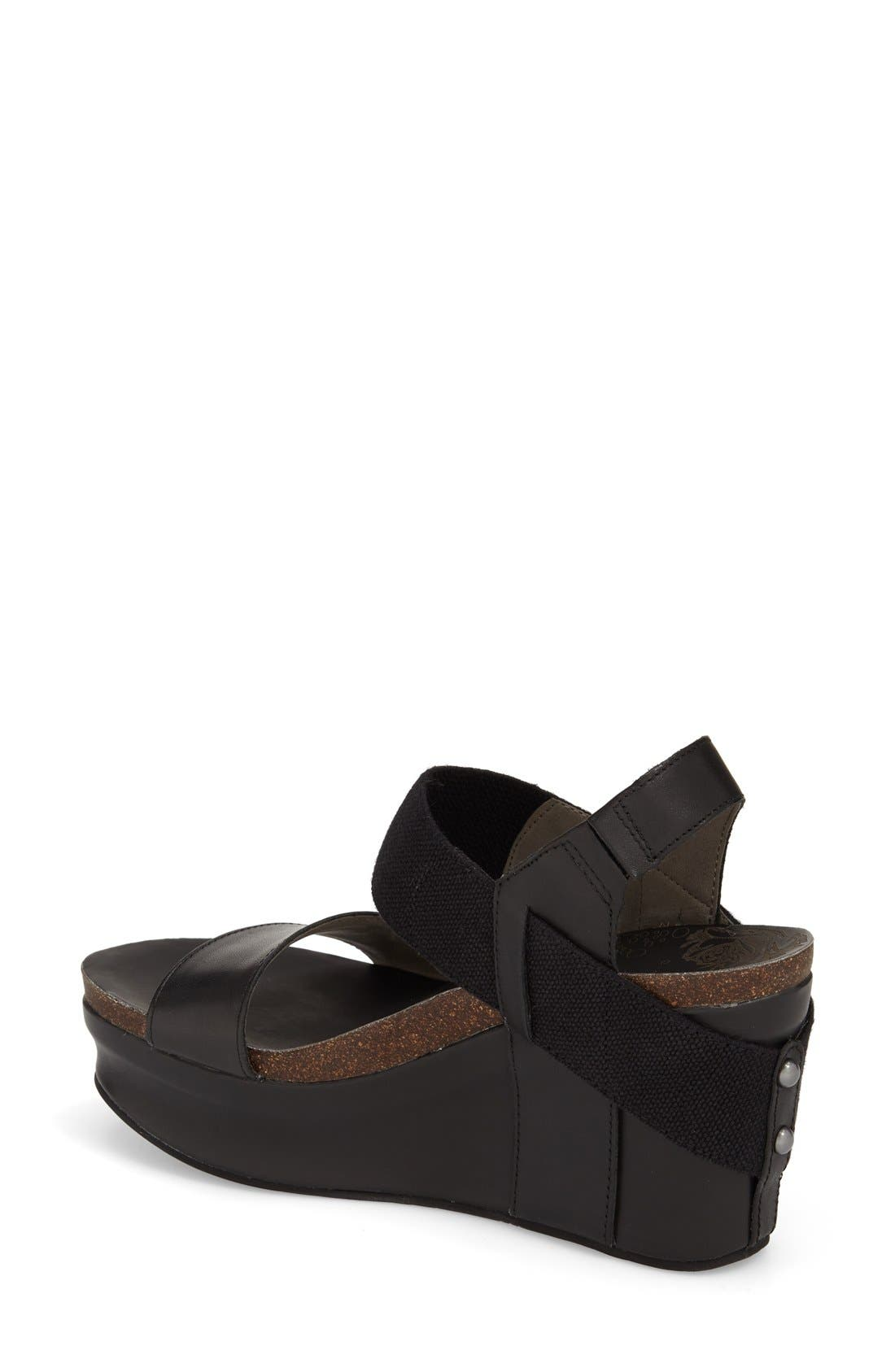 'Bushnell' Wedge Sandal,                             Alternate thumbnail 16, color,