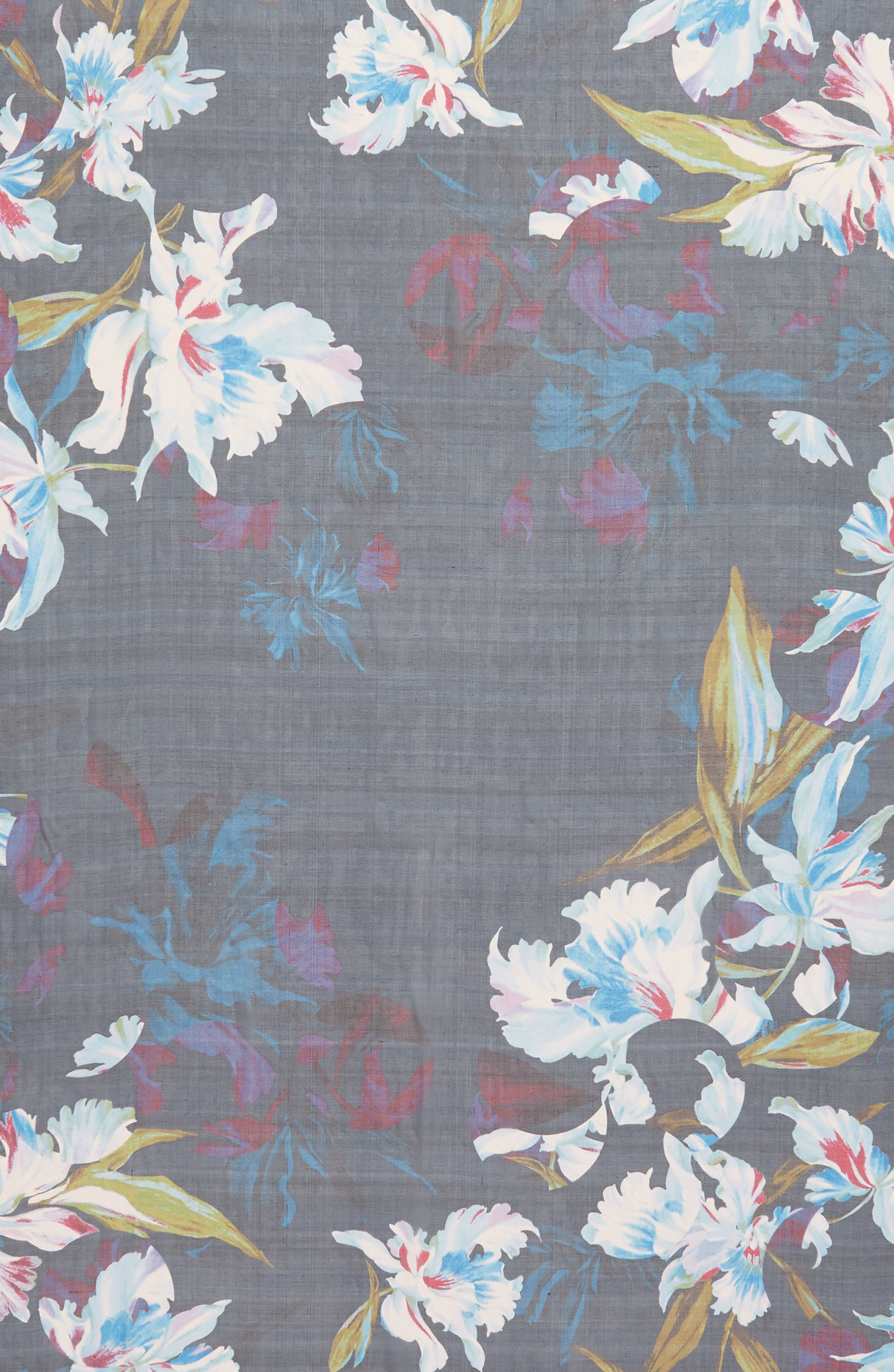 Silk Chiffon Oblong Scarf,                             Alternate thumbnail 59, color,