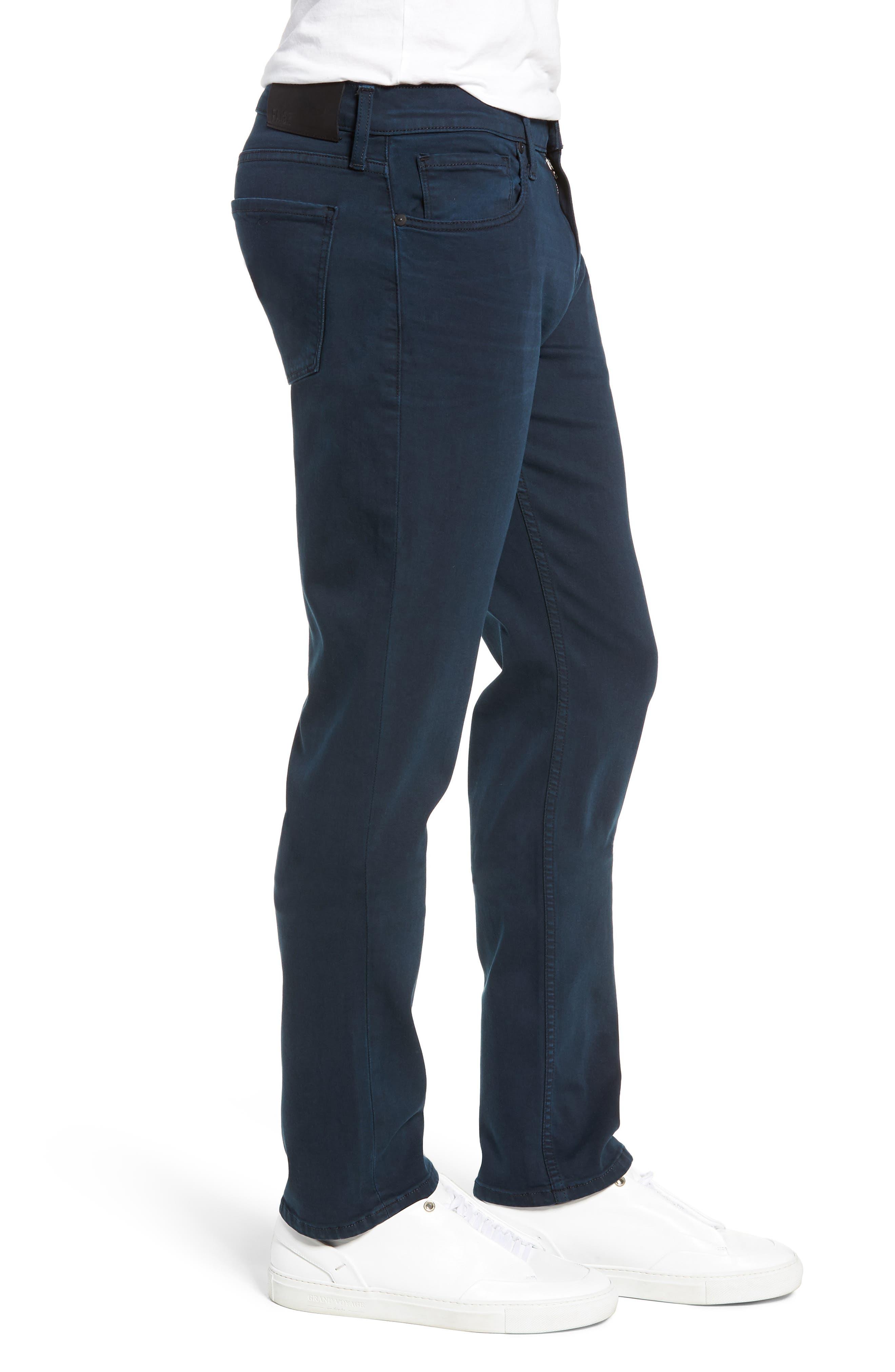 Transcend - Federal Slim Straight Leg Jeans,                             Alternate thumbnail 3, color,                             VINTAGE SKYFALL
