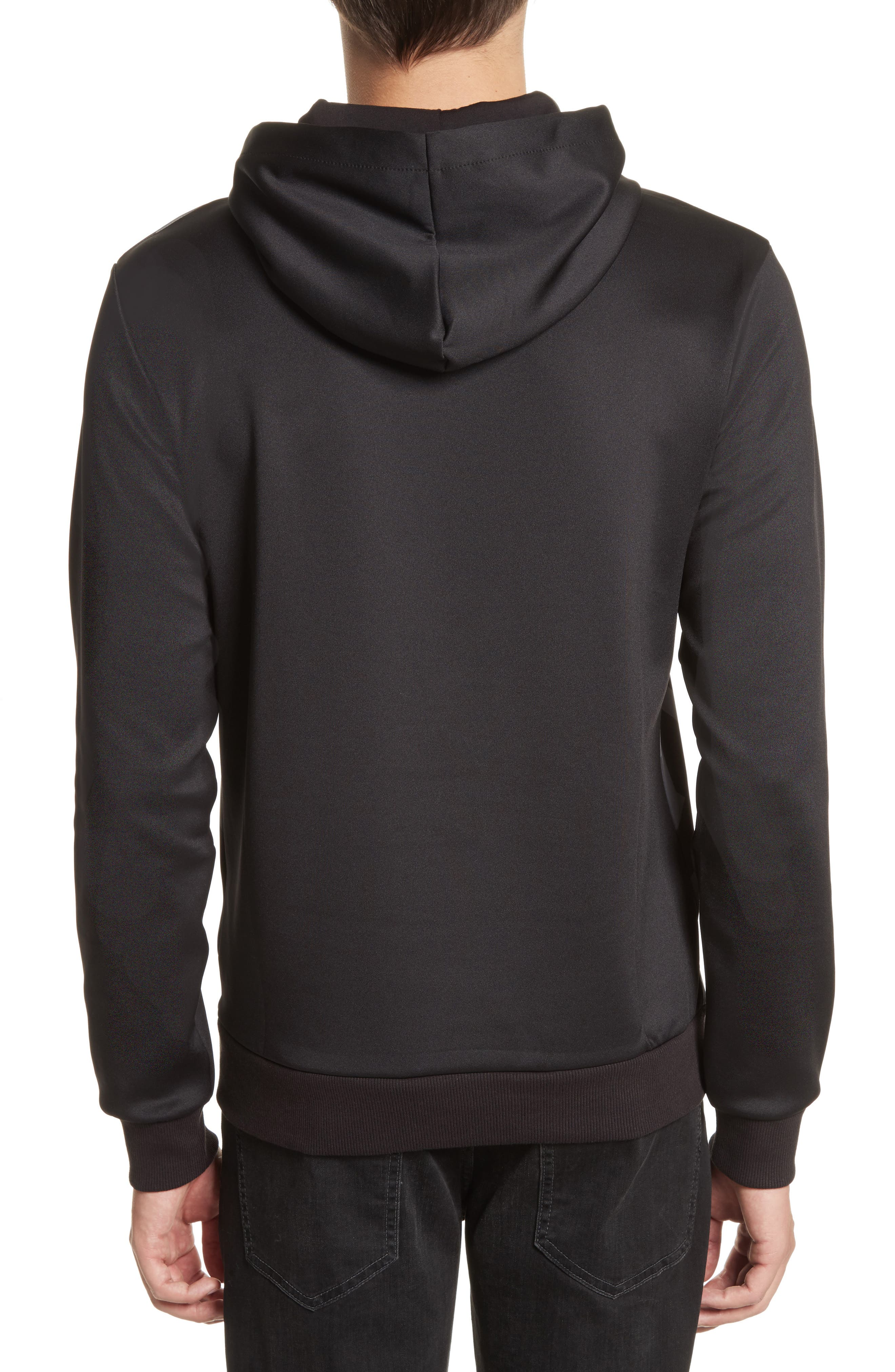 Print Front Hoodie,                             Alternate thumbnail 2, color,                             050