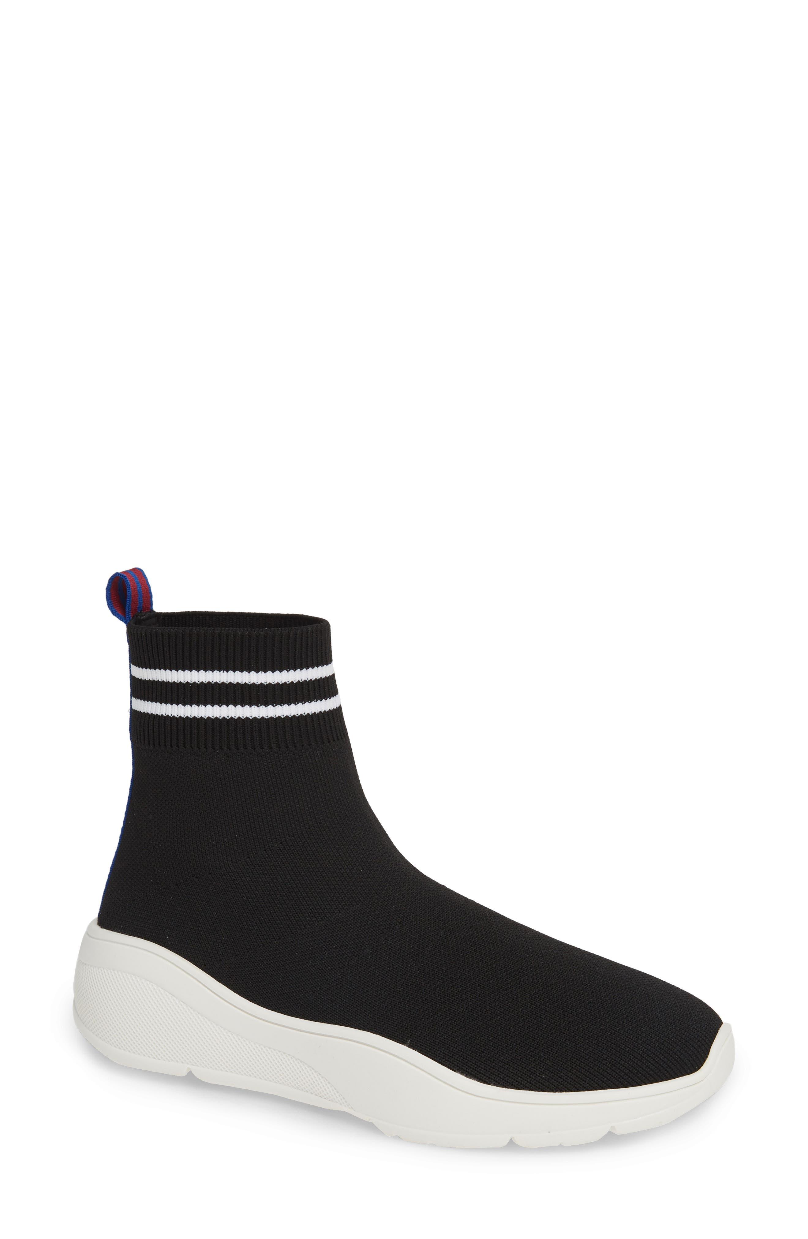 Found Sock Sneaker,                         Main,                         color, BLACK