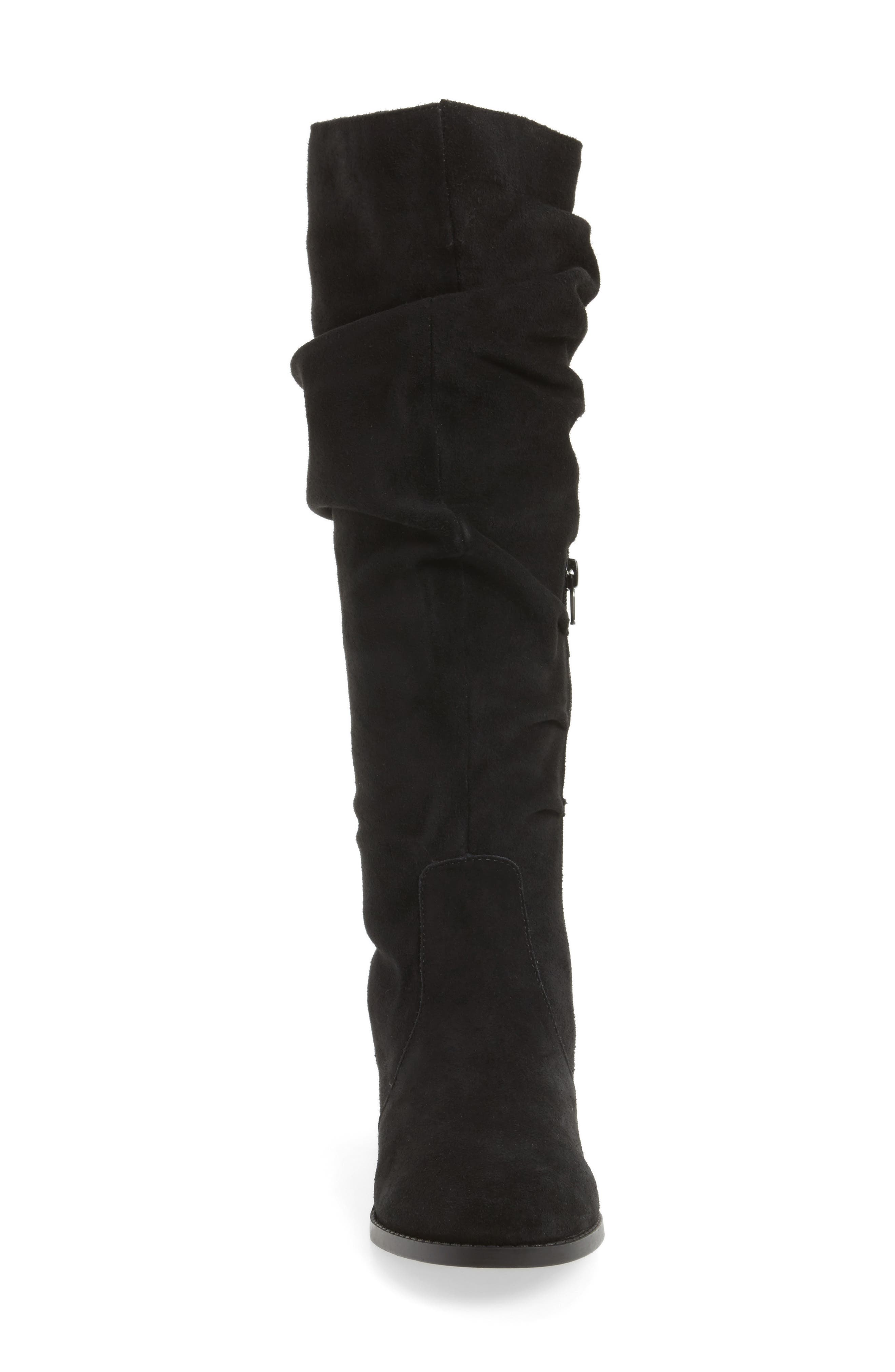 Steve Maddon Beacon Slouchy Knee-High Boot,                             Alternate thumbnail 4, color,                             006