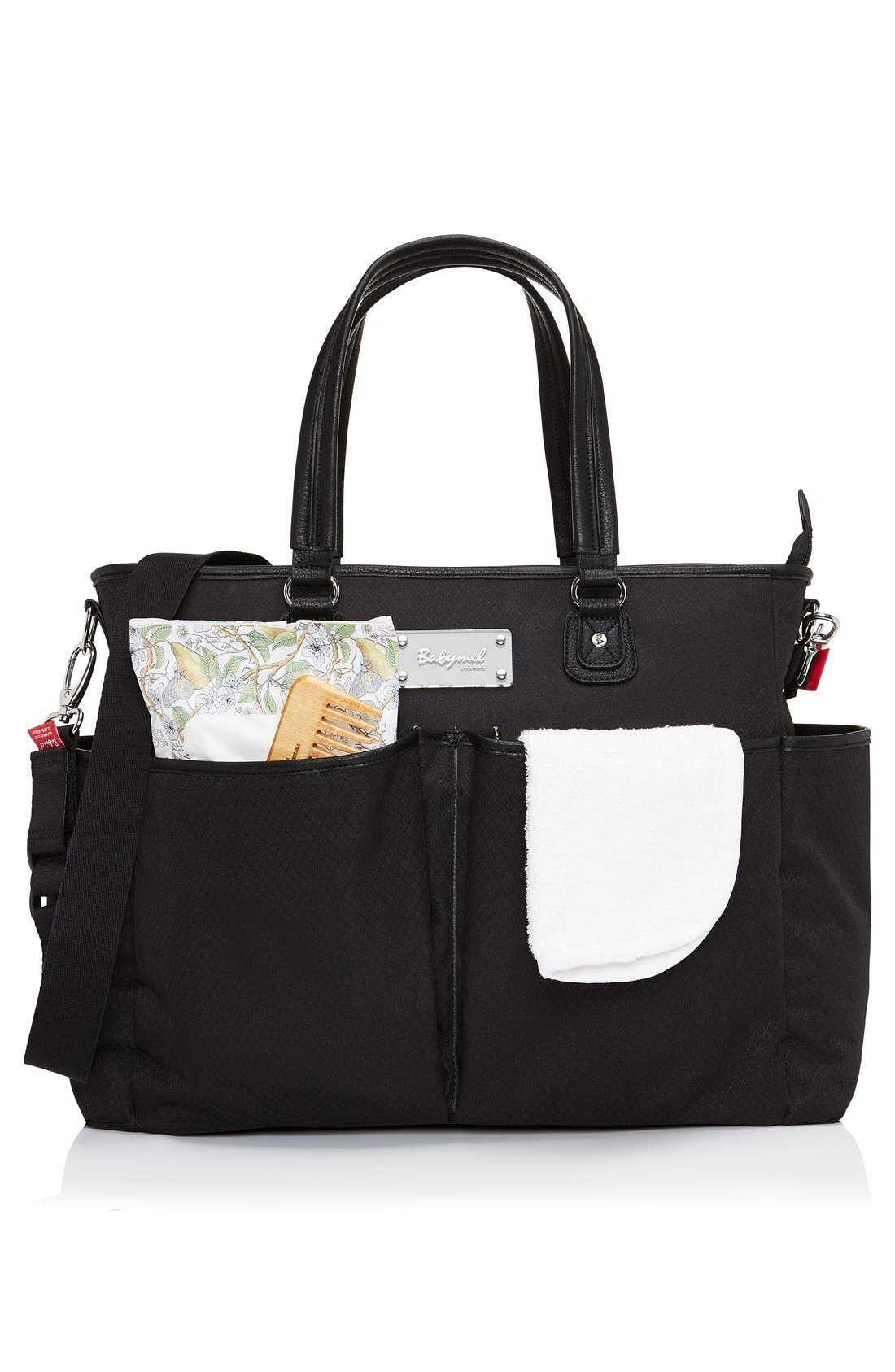 Bella Diaper Bag,                             Alternate thumbnail 11, color,                             003