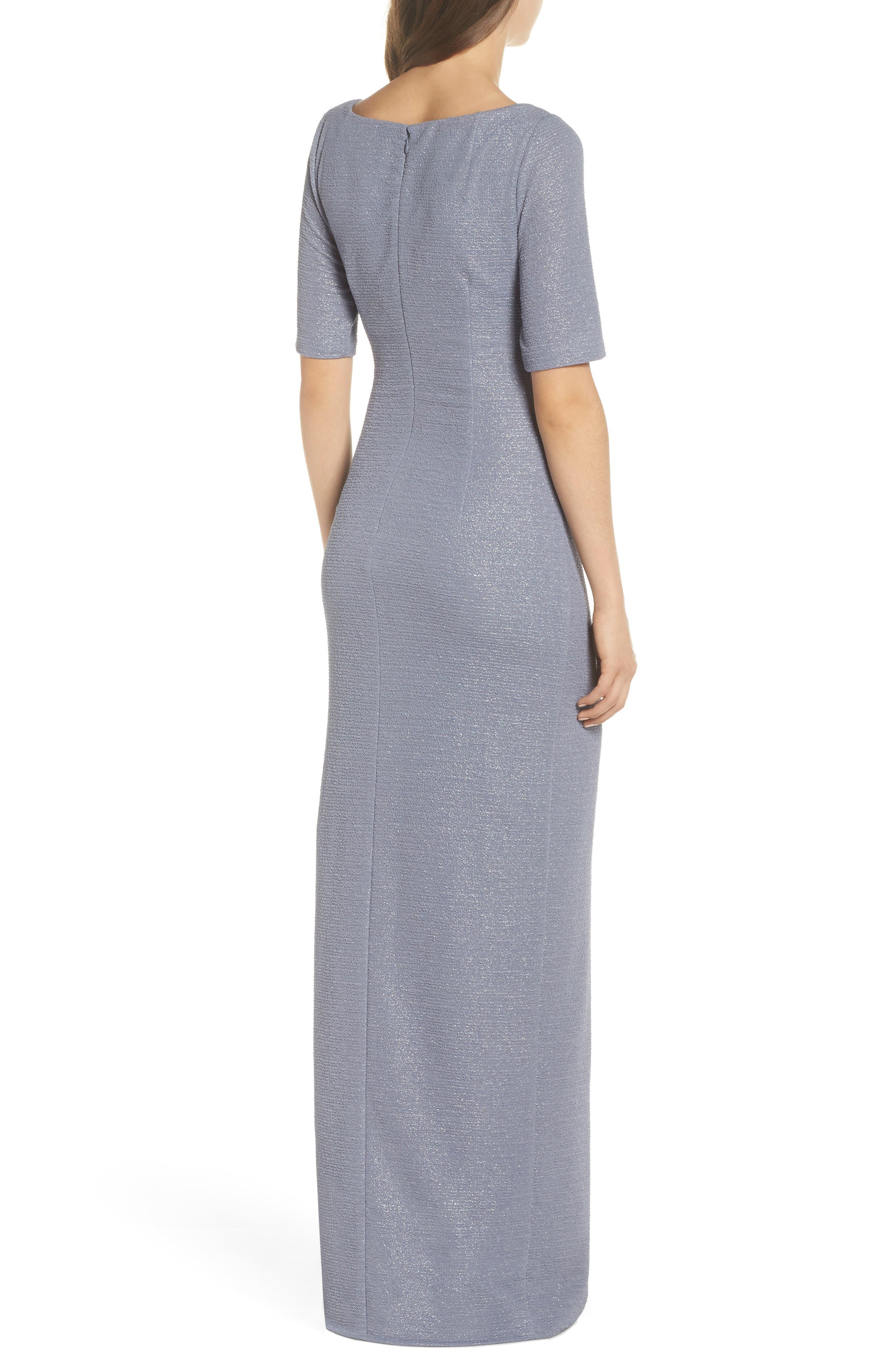 Metallic Gown,                             Alternate thumbnail 2, color,                             028