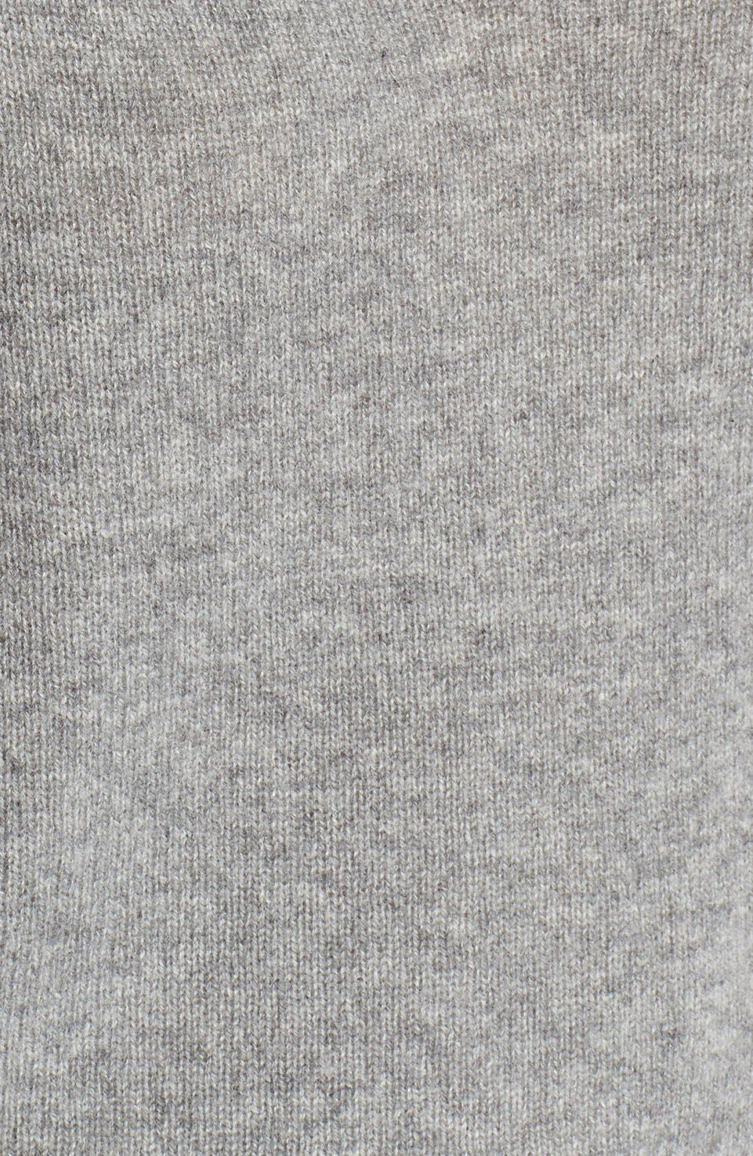 'Martin' Cashmere Crop Sweater,                             Alternate thumbnail 3, color,                             020
