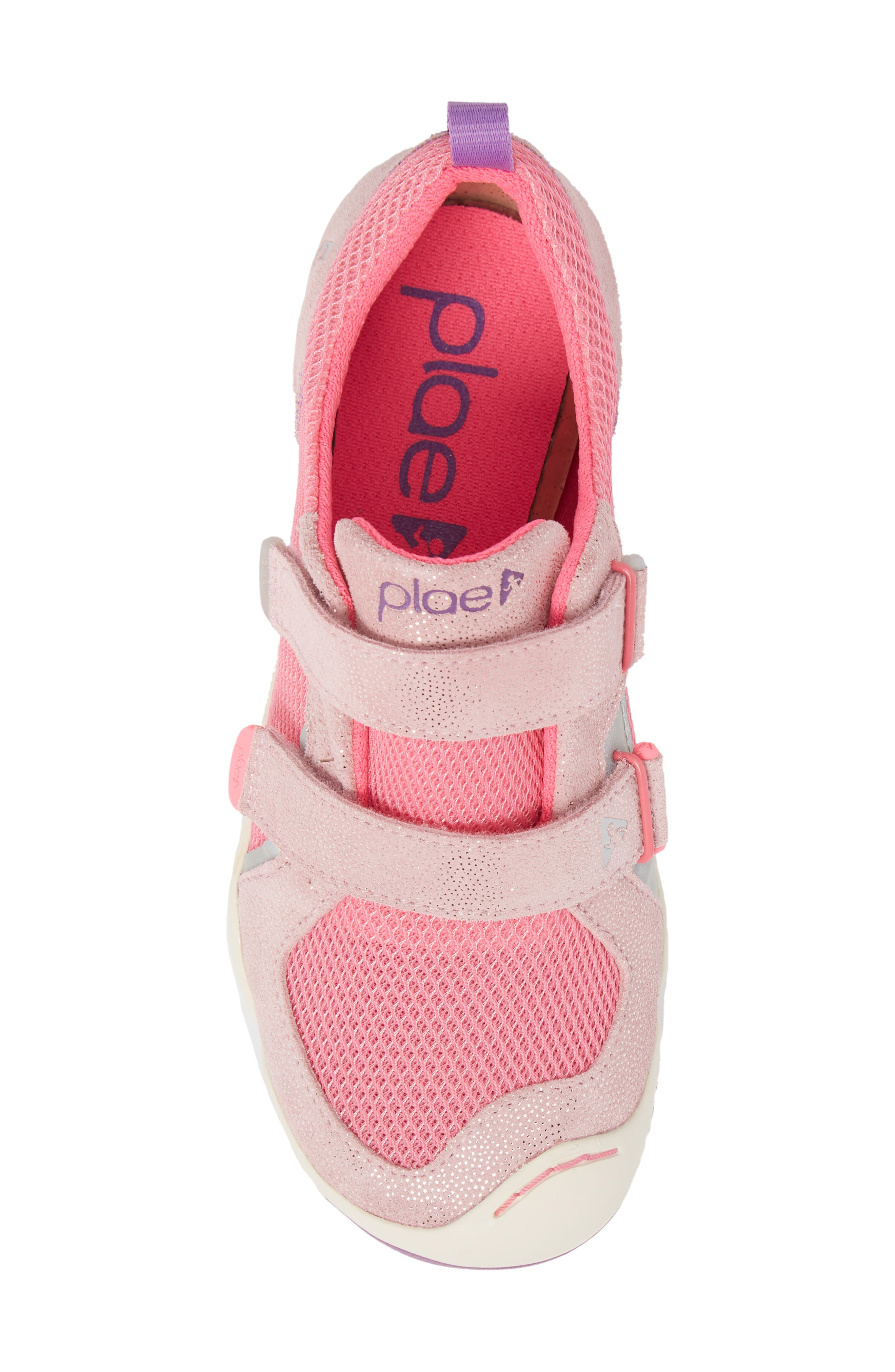 PLAE,                             'Ty' Customizable Sneaker,                             Alternate thumbnail 5, color,                             PINK/ PINK/ DEWBERRY