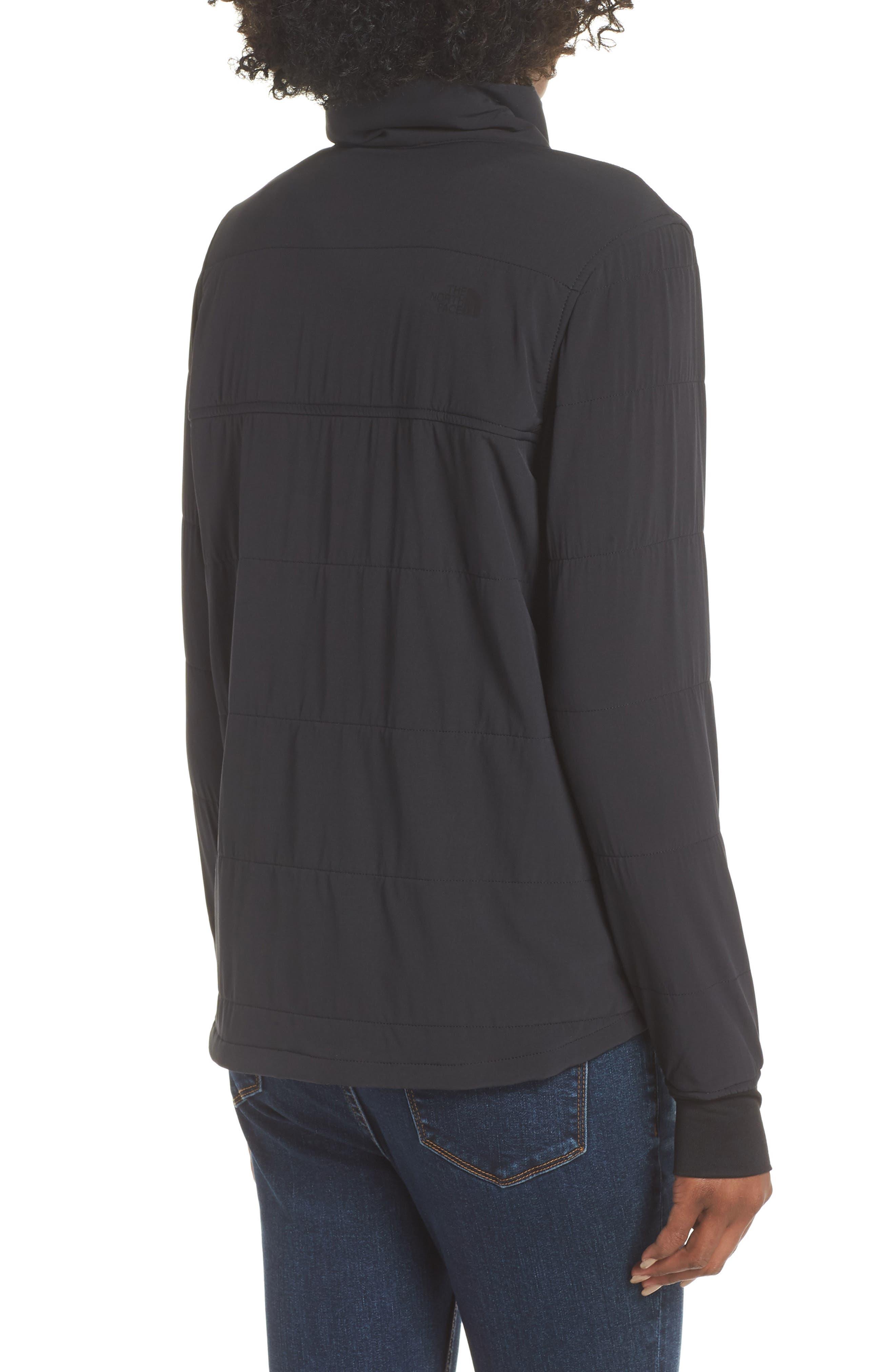 Mountain Snap Neck Sweatshirt,                             Alternate thumbnail 2, color,                             001