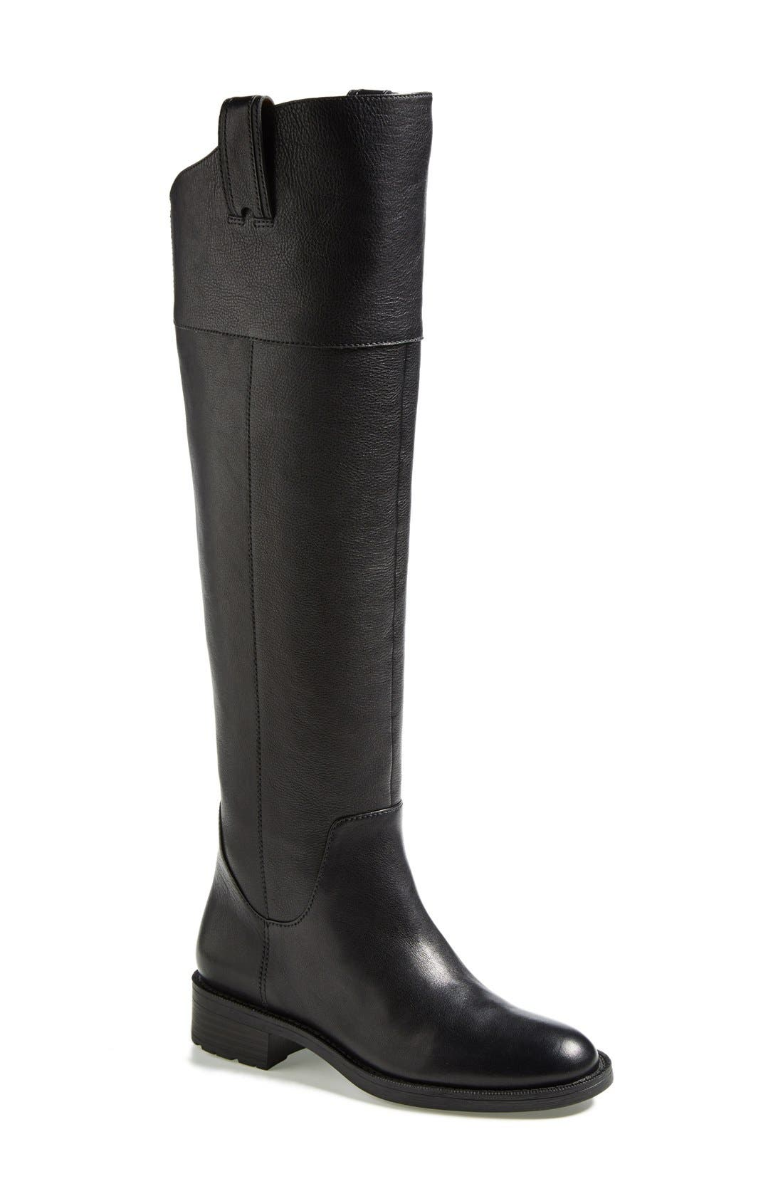 'Holdyn' Over the Knee Boot,                             Main thumbnail 1, color,                             001