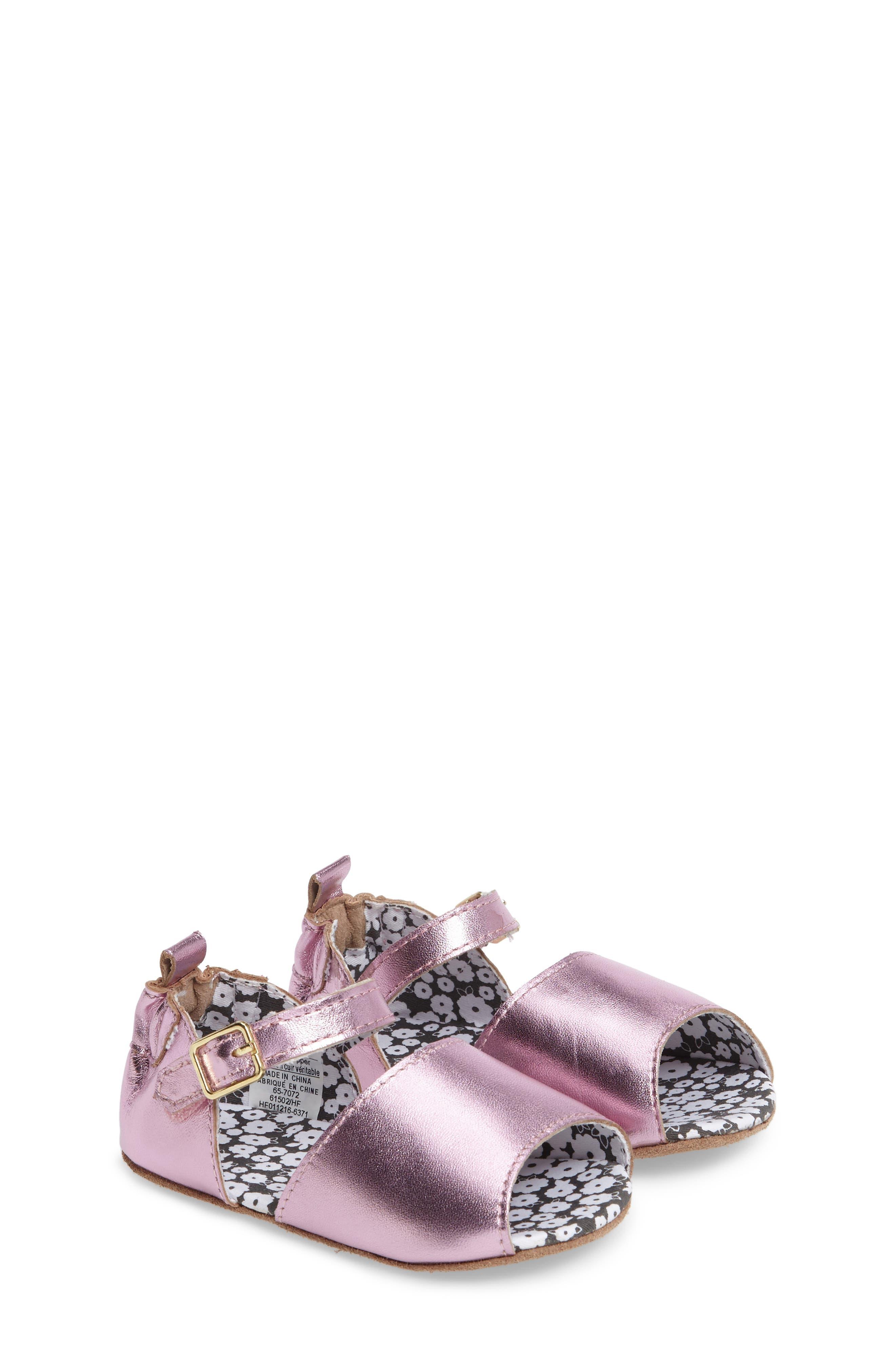 Sophie Crib Shoe,                         Main,                         color, COBBLESTONE