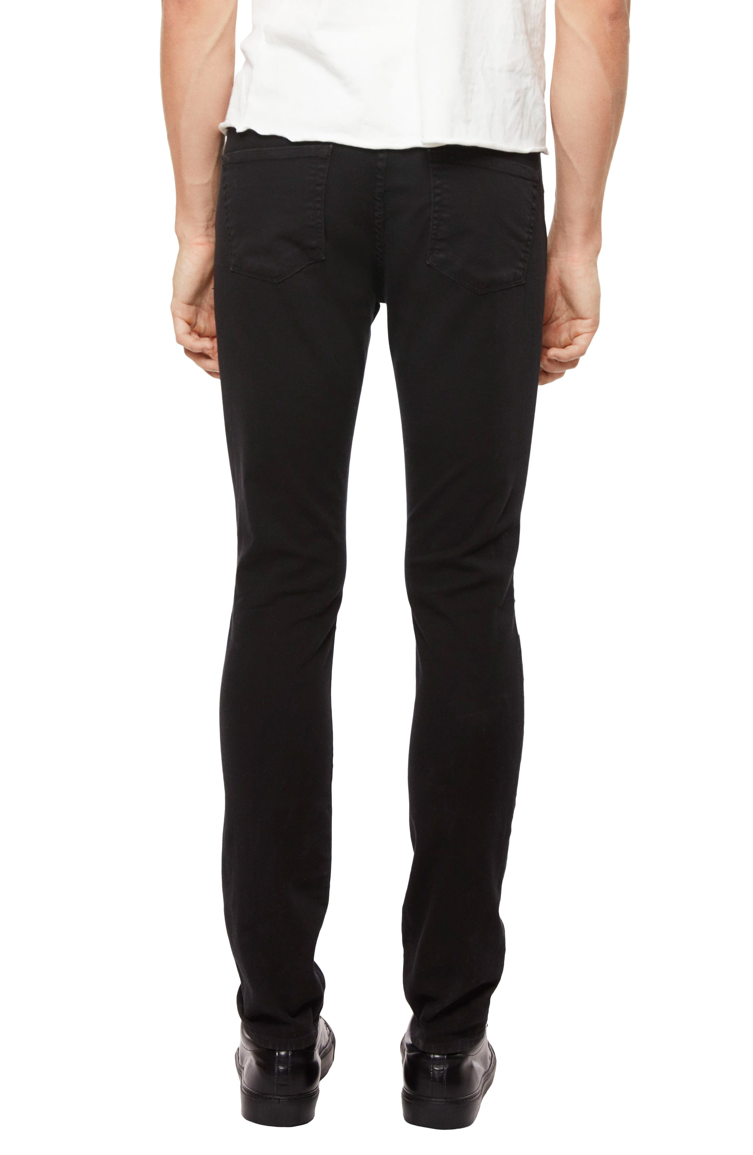 Mick Skinny Fit Jeans,                             Alternate thumbnail 2, color,                             001