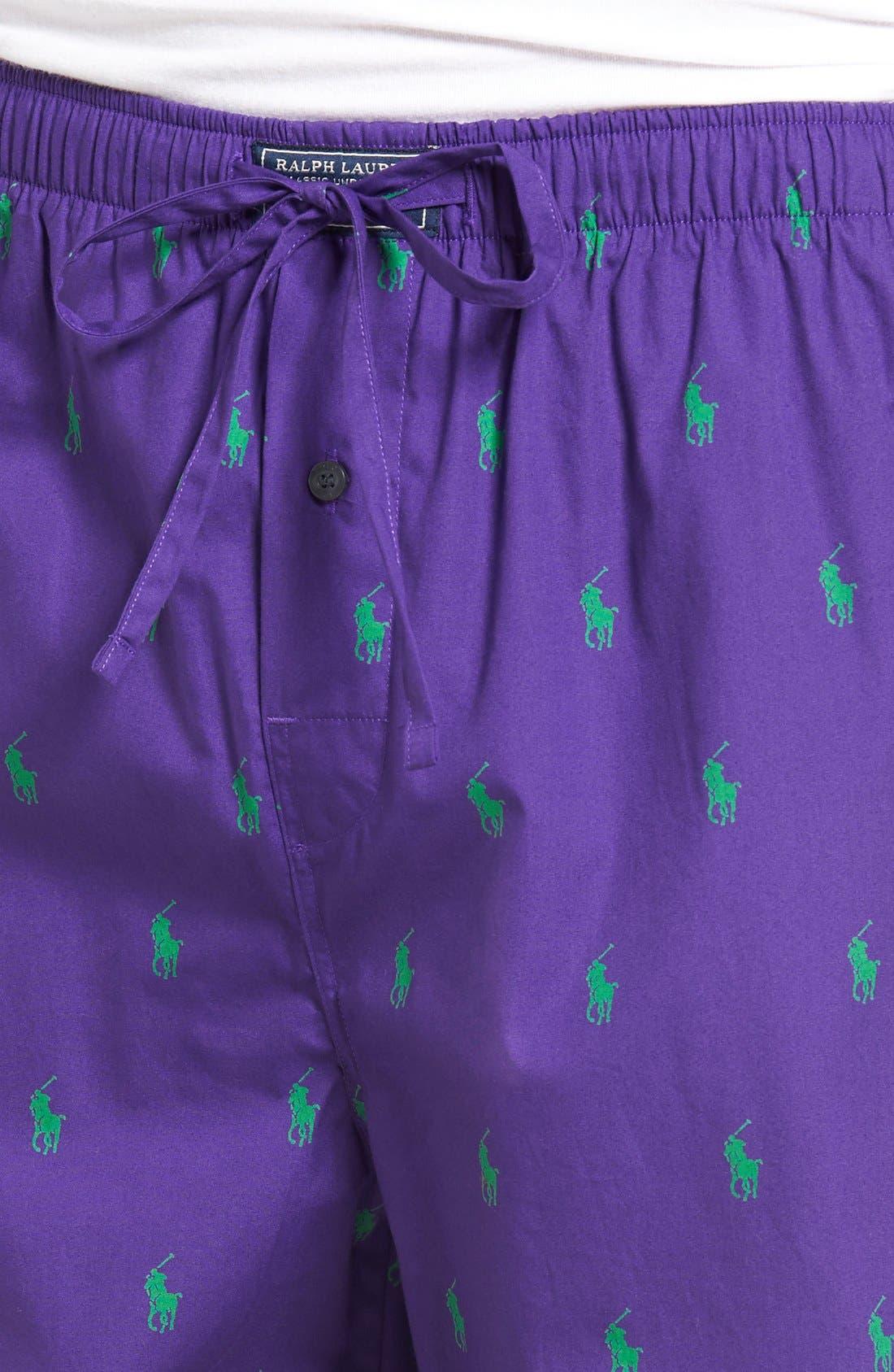 Cotton Lounge Pants,                             Alternate thumbnail 49, color,