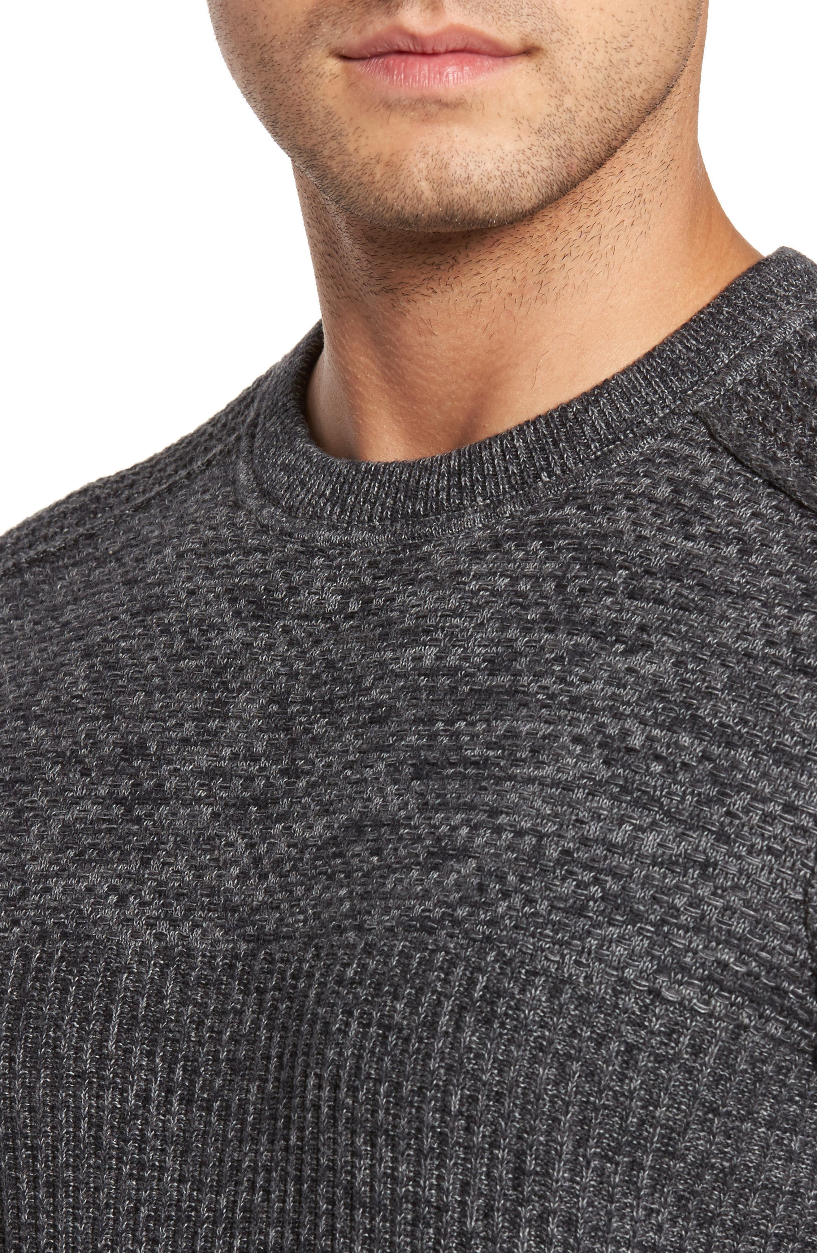 Medina Marl Cotton Sweater,                             Alternate thumbnail 8, color,