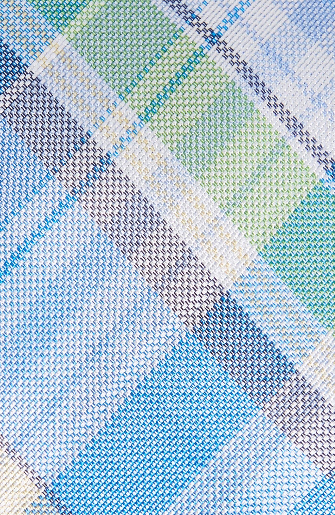 Del Rio Plaid Silk Tie,                             Alternate thumbnail 2, color,                             BLUE