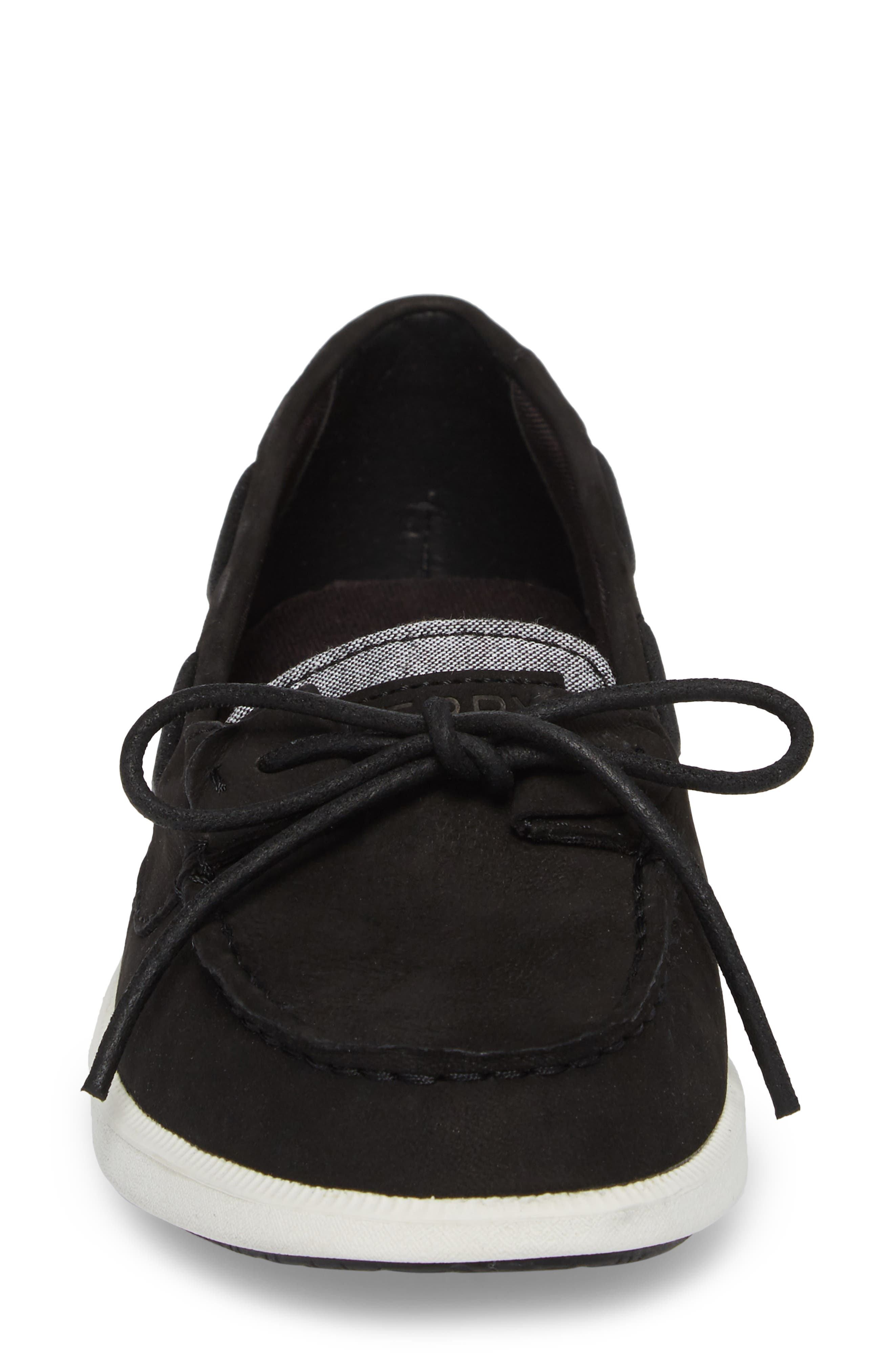 Oasis Boat Shoe,                             Alternate thumbnail 4, color,                             001