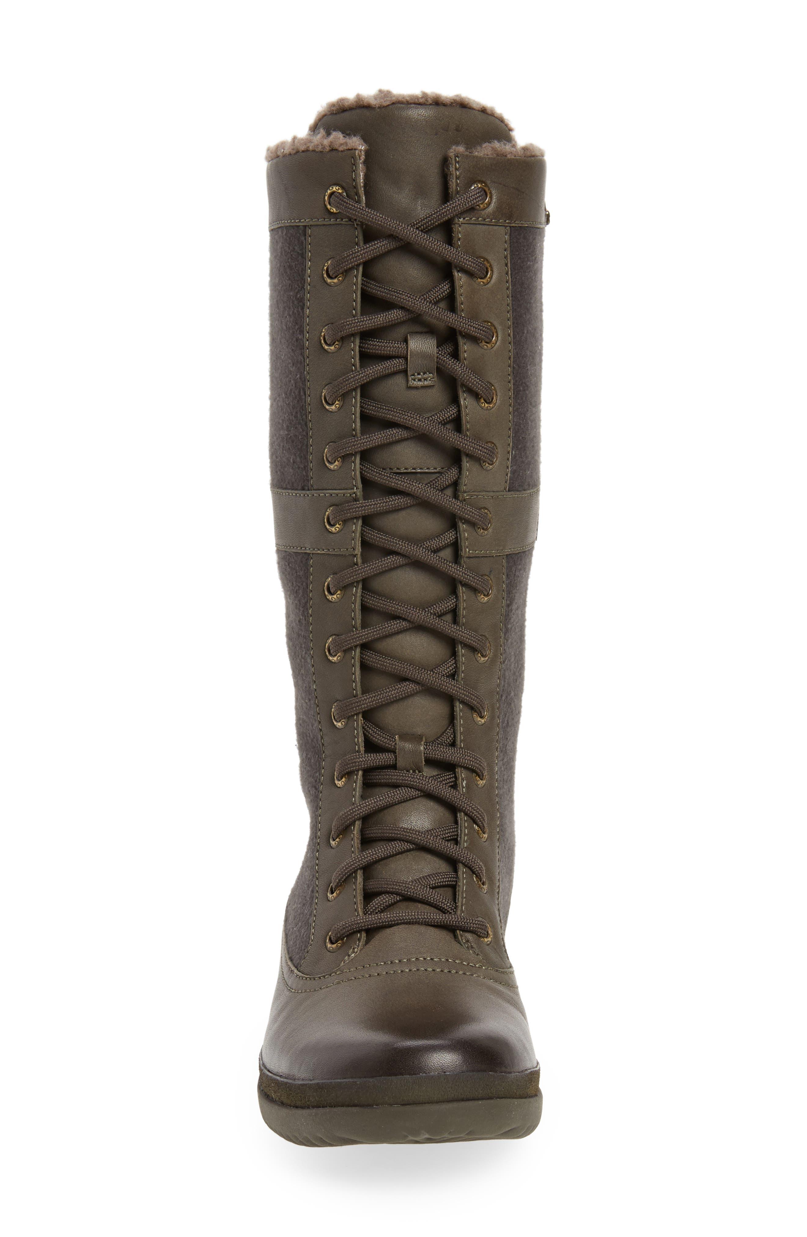 Elvia Waterproof Tall Boot,                             Alternate thumbnail 11, color,