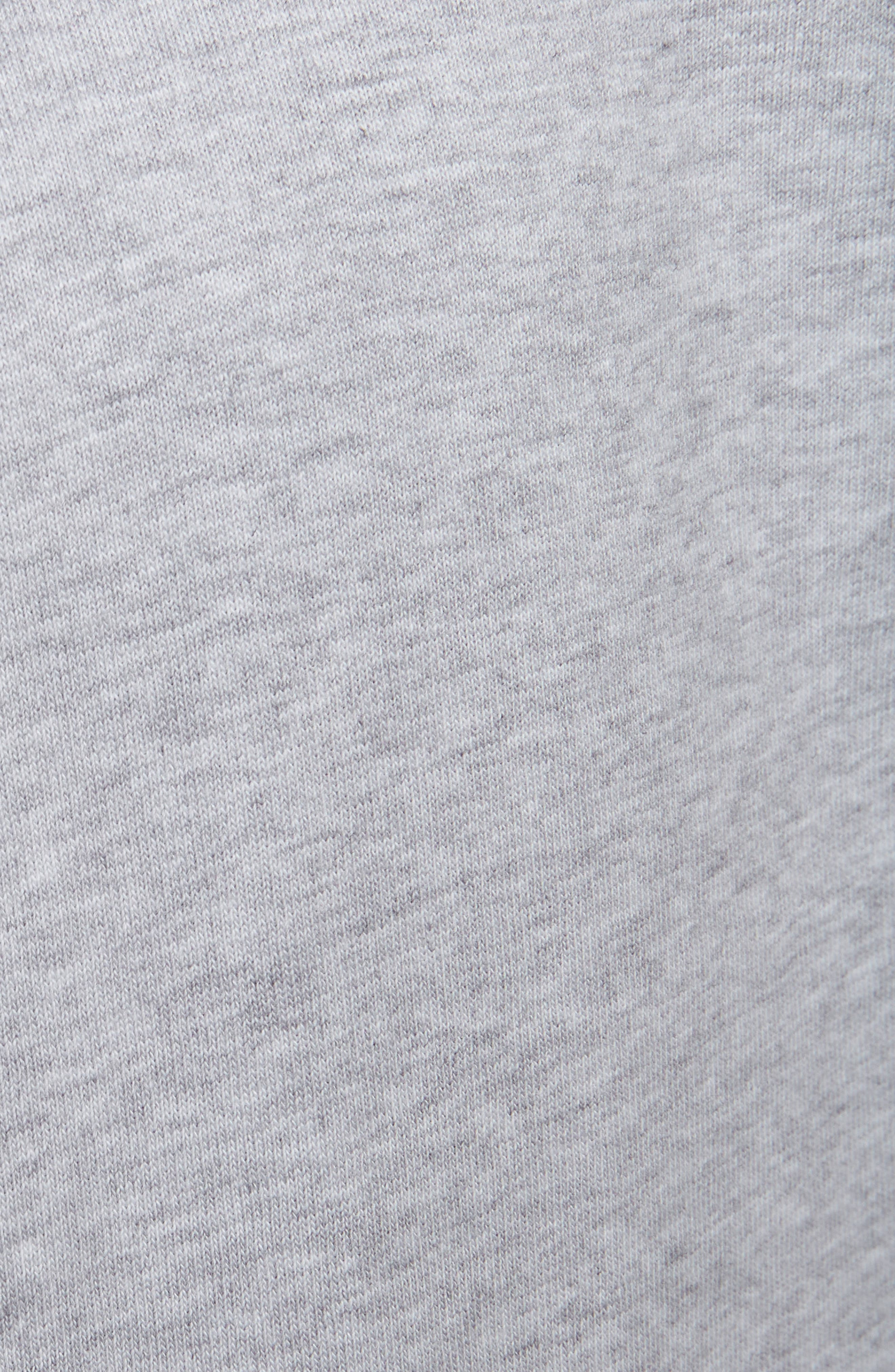 Sport Boxy Tee,                             Alternate thumbnail 5, color,                             PALE GREY