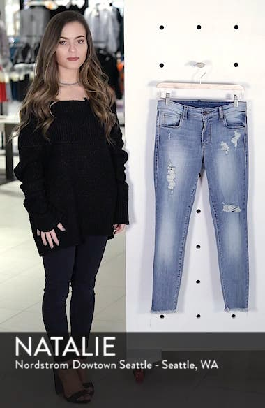 Emma Ripped Ankle Skinny Jeans, sales video thumbnail