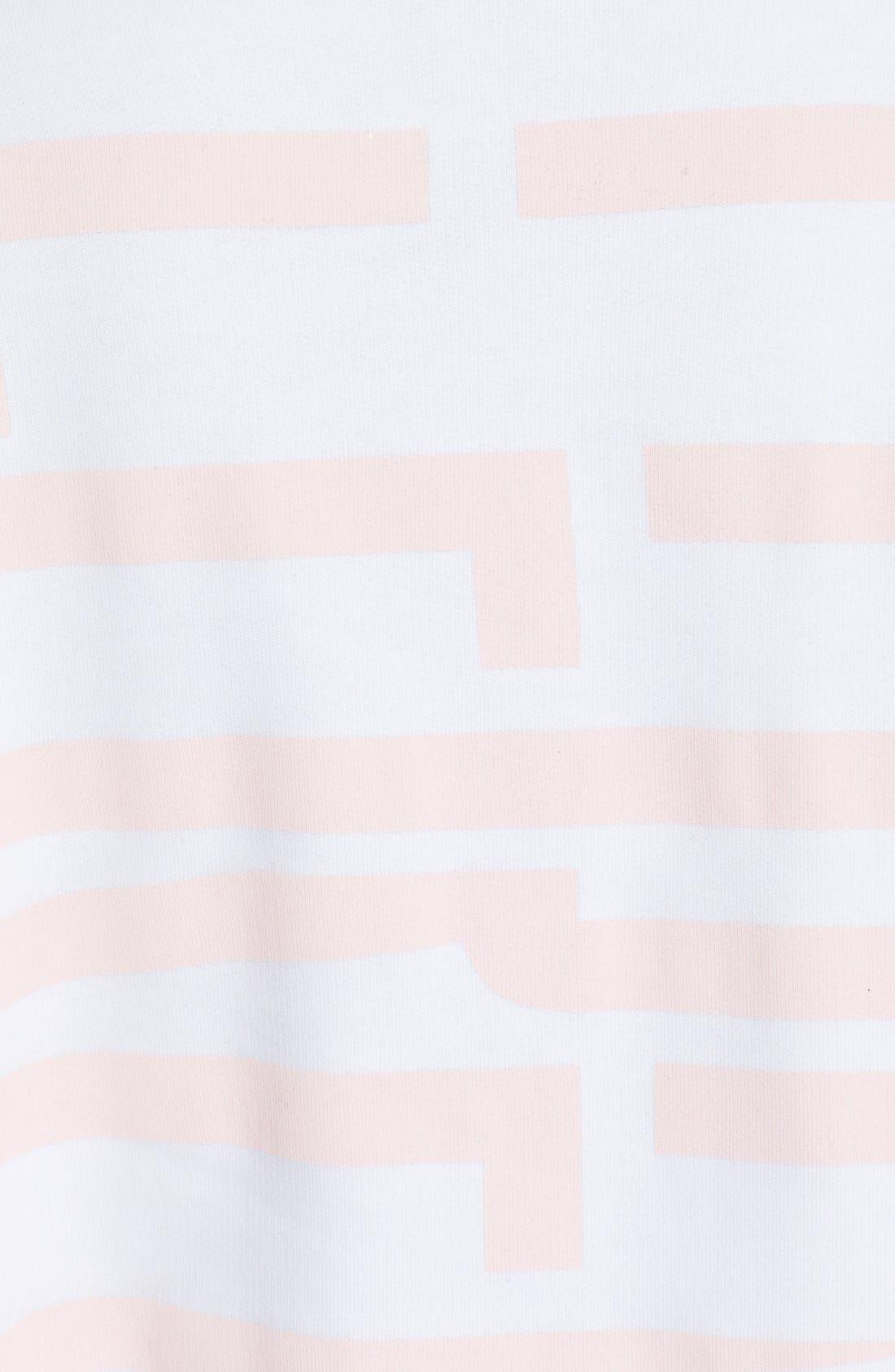 Graphic Cotton Sweatshirt,                             Alternate thumbnail 5, color,                             100