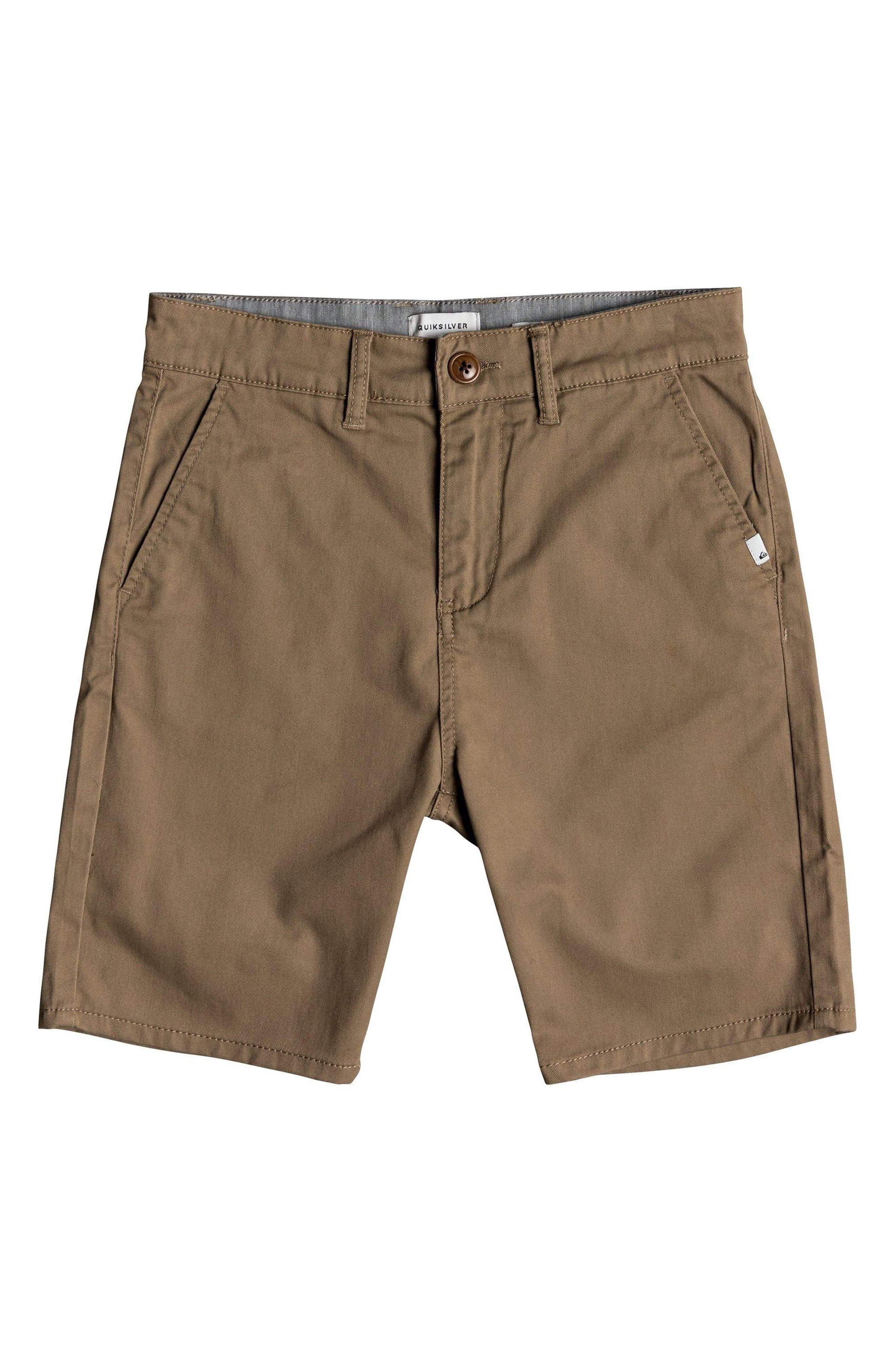 Everyday Union Stretch Shorts,                             Main thumbnail 1, color,                             ELMWOOD