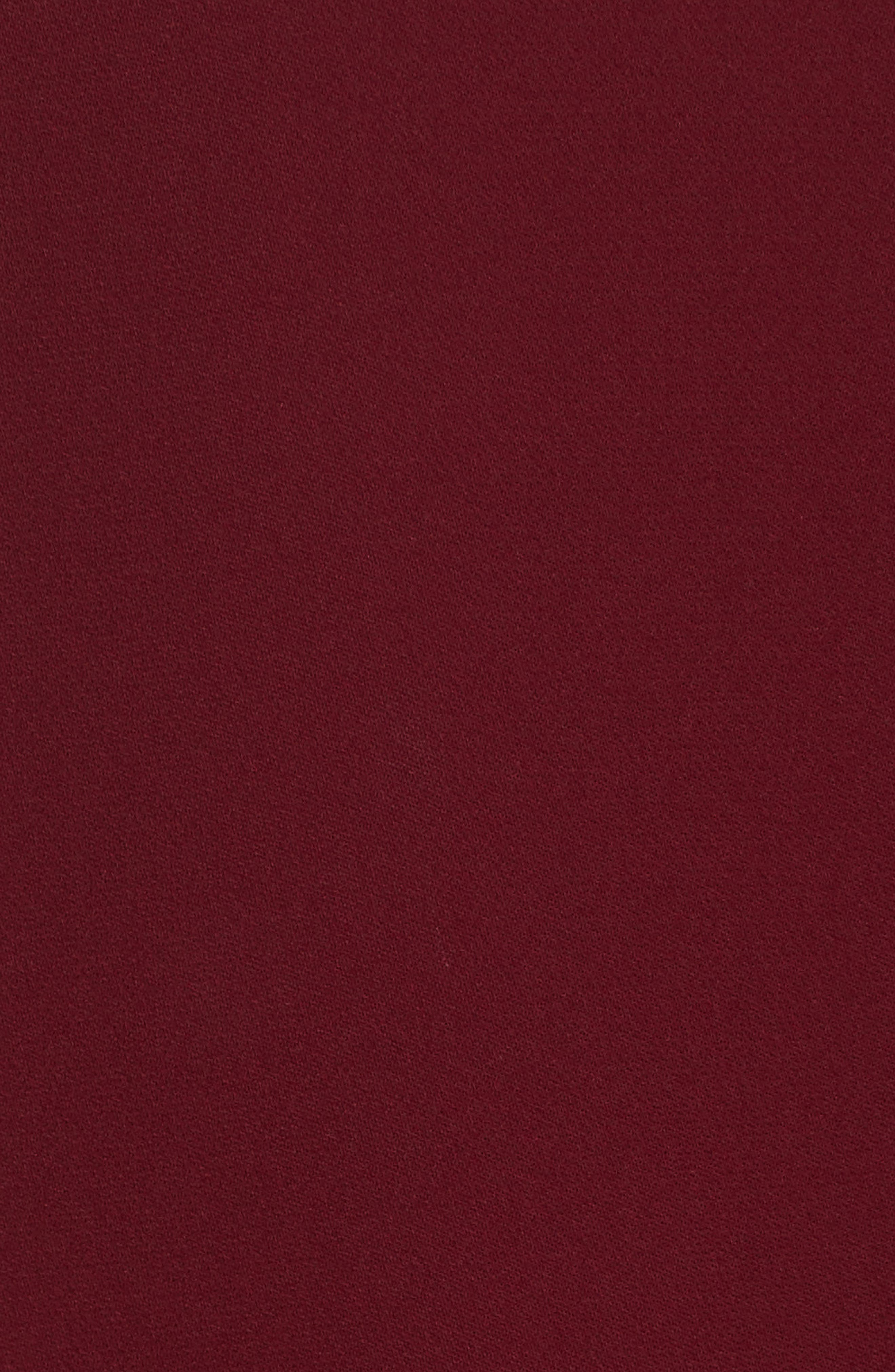 Bringam Slit Sleeve Georgette Top,                             Alternate thumbnail 6, color,                             DEEP MULBERRY