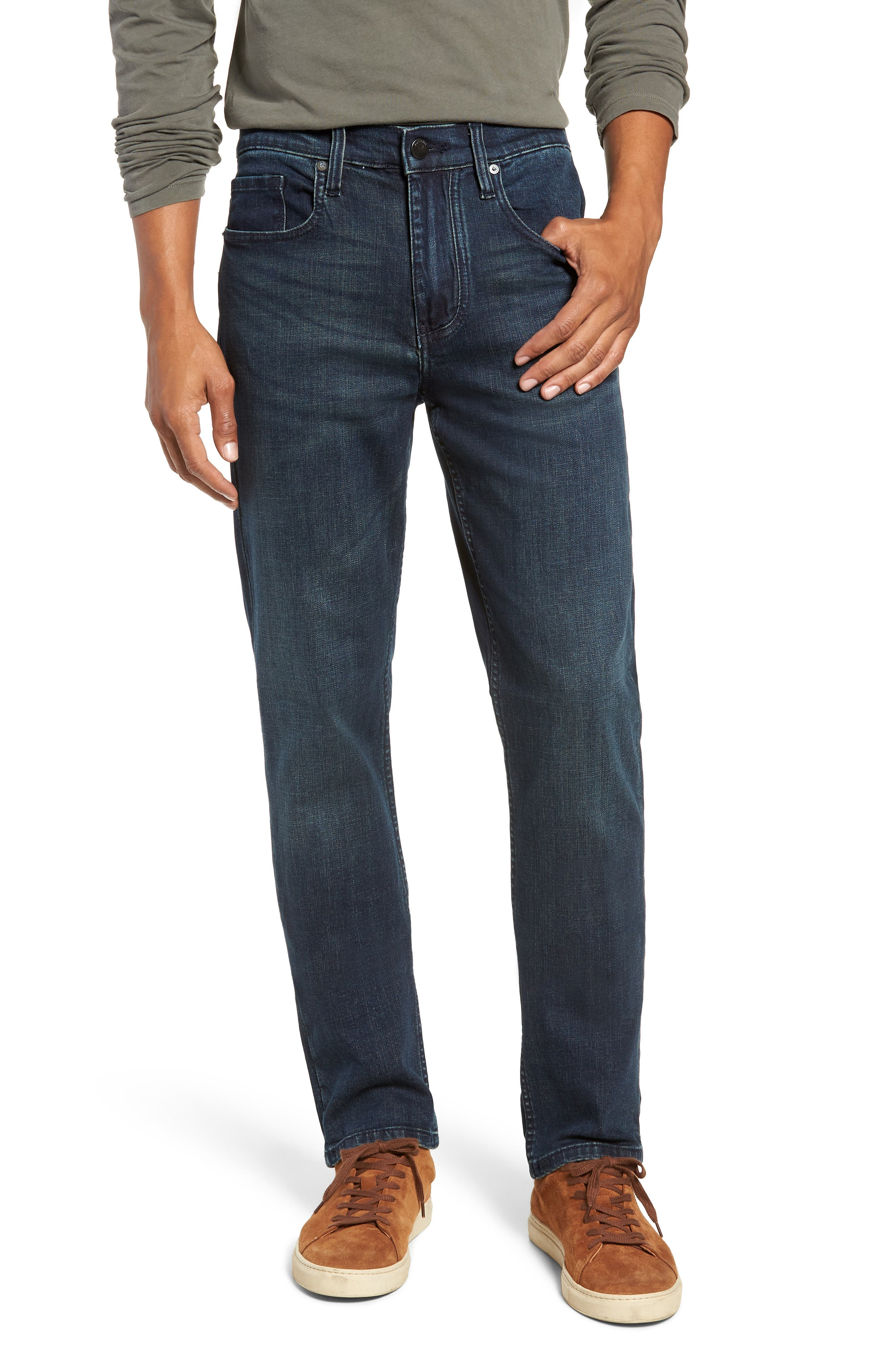 Stanton Straight Leg Jeans,                             Main thumbnail 1, color,                             WORTHLESS TENDENCY