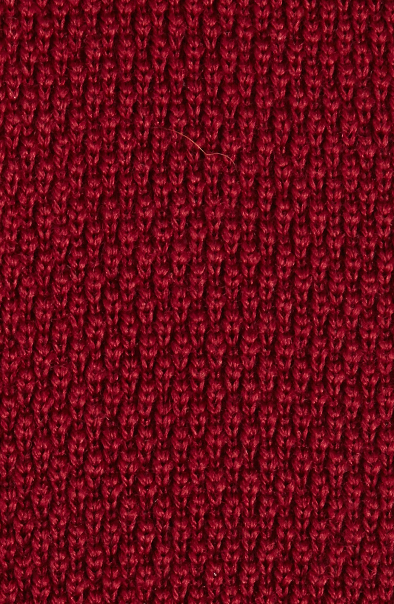 Solid Knit Wool Skinny Tie,                             Alternate thumbnail 10, color,