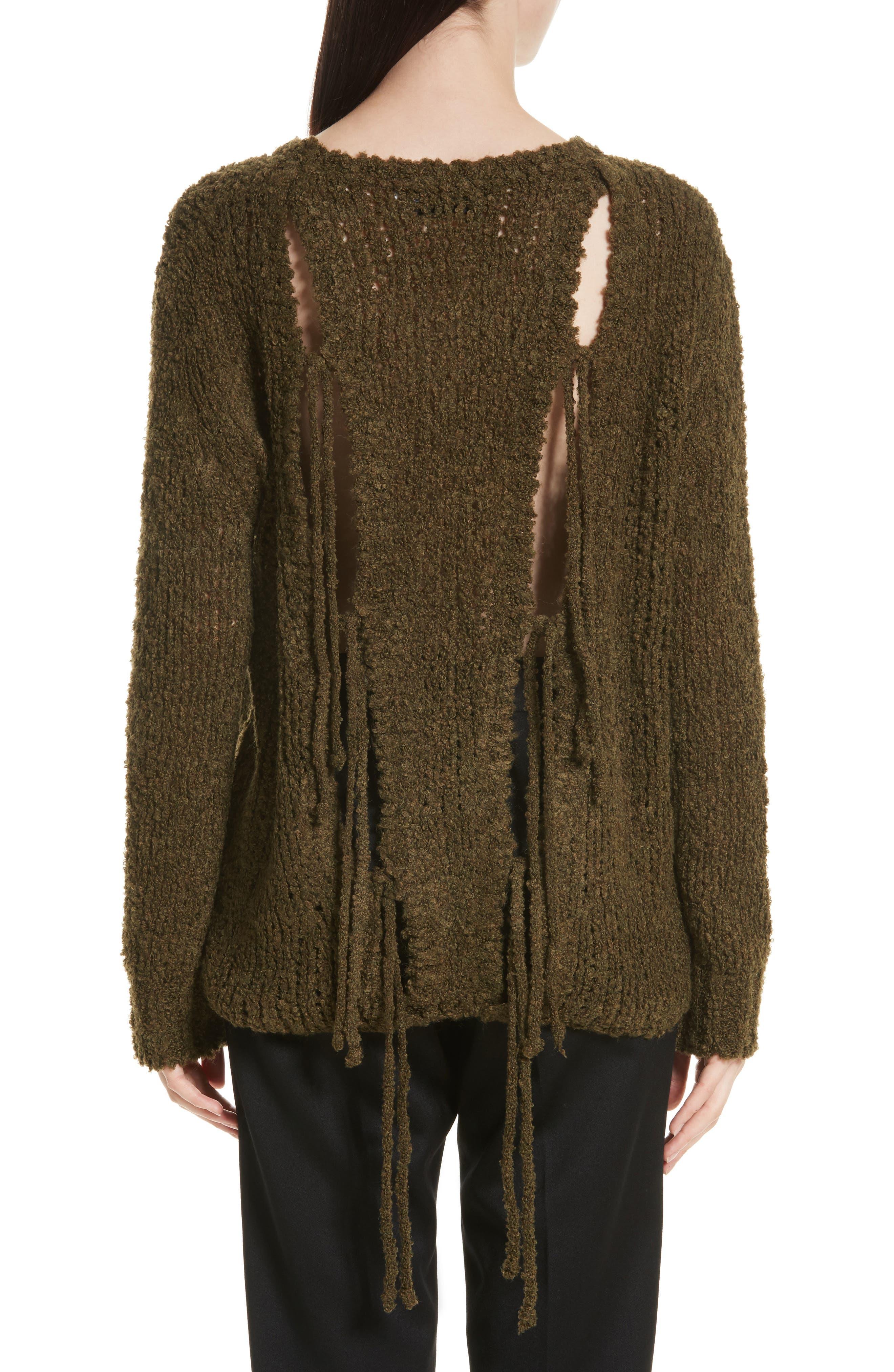 Cresent Cutout Sweater,                             Alternate thumbnail 2, color,                             300