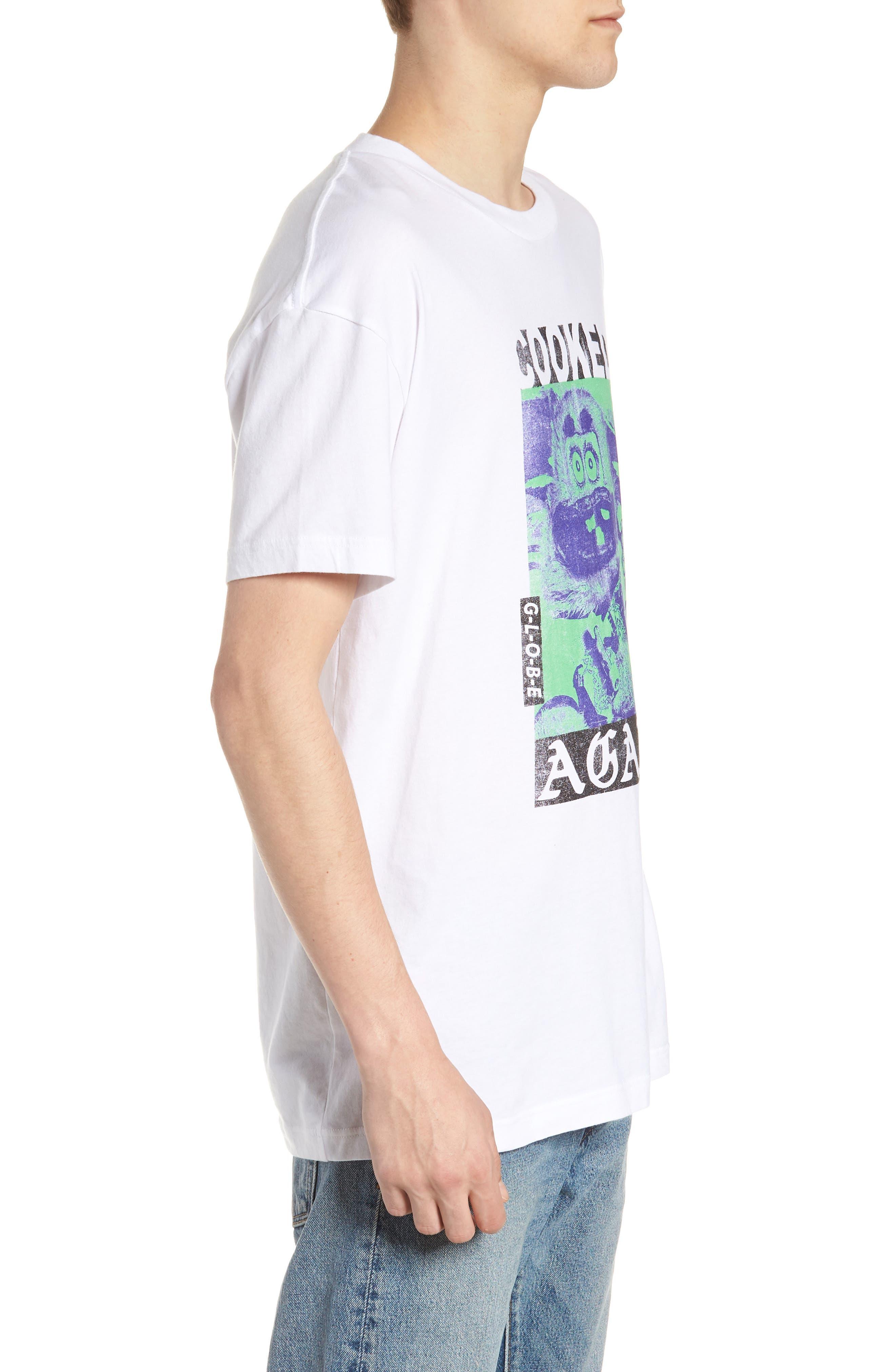 T-Shirt,                             Alternate thumbnail 3, color,                             WHITE