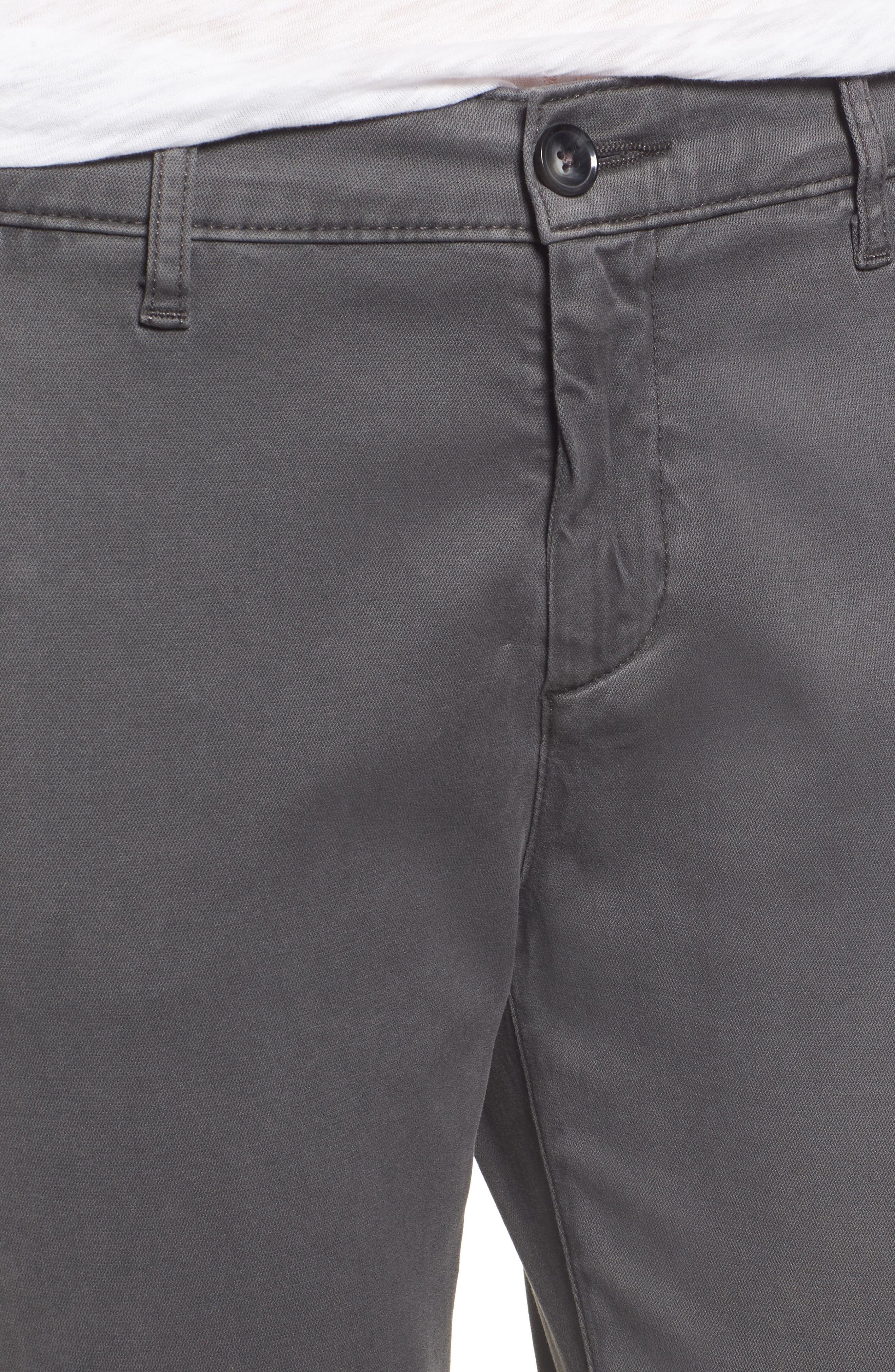 Caden Crop Twill Trousers,                             Alternate thumbnail 4, color,                             039