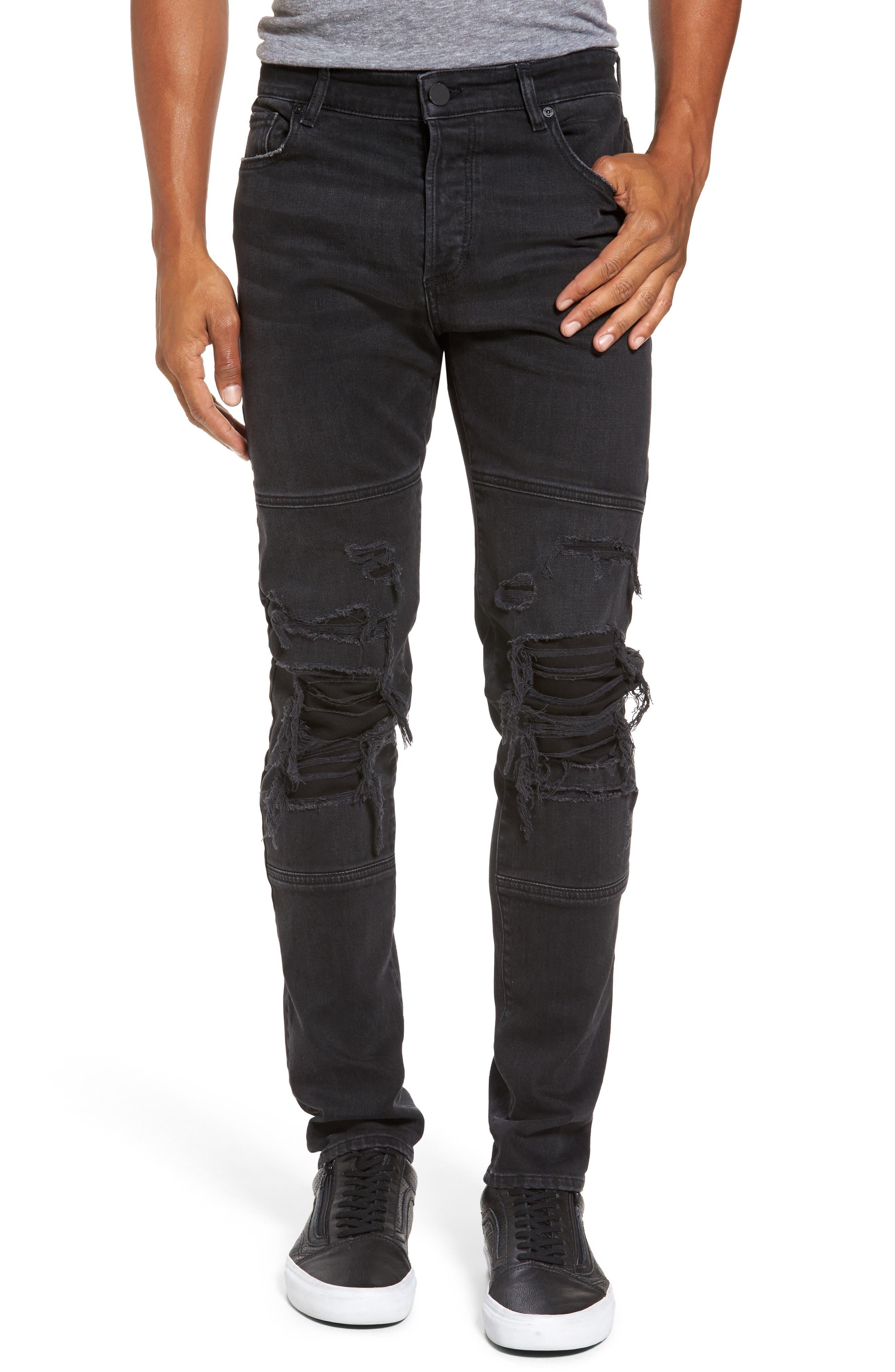 Hunter Skinny Jeans,                             Main thumbnail 1, color,                             001