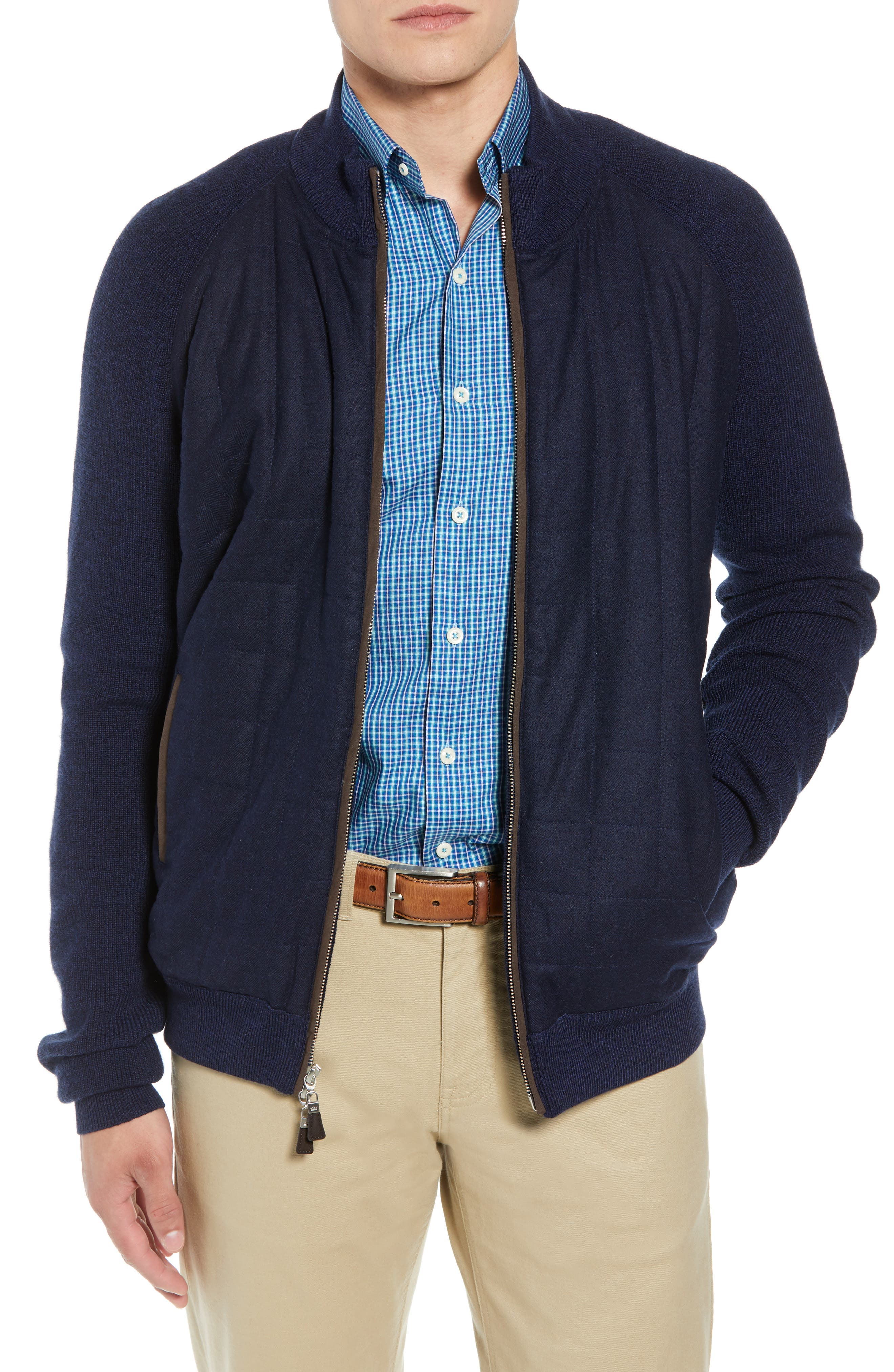 Quilted Zip Jacket,                             Main thumbnail 1, color,                             410