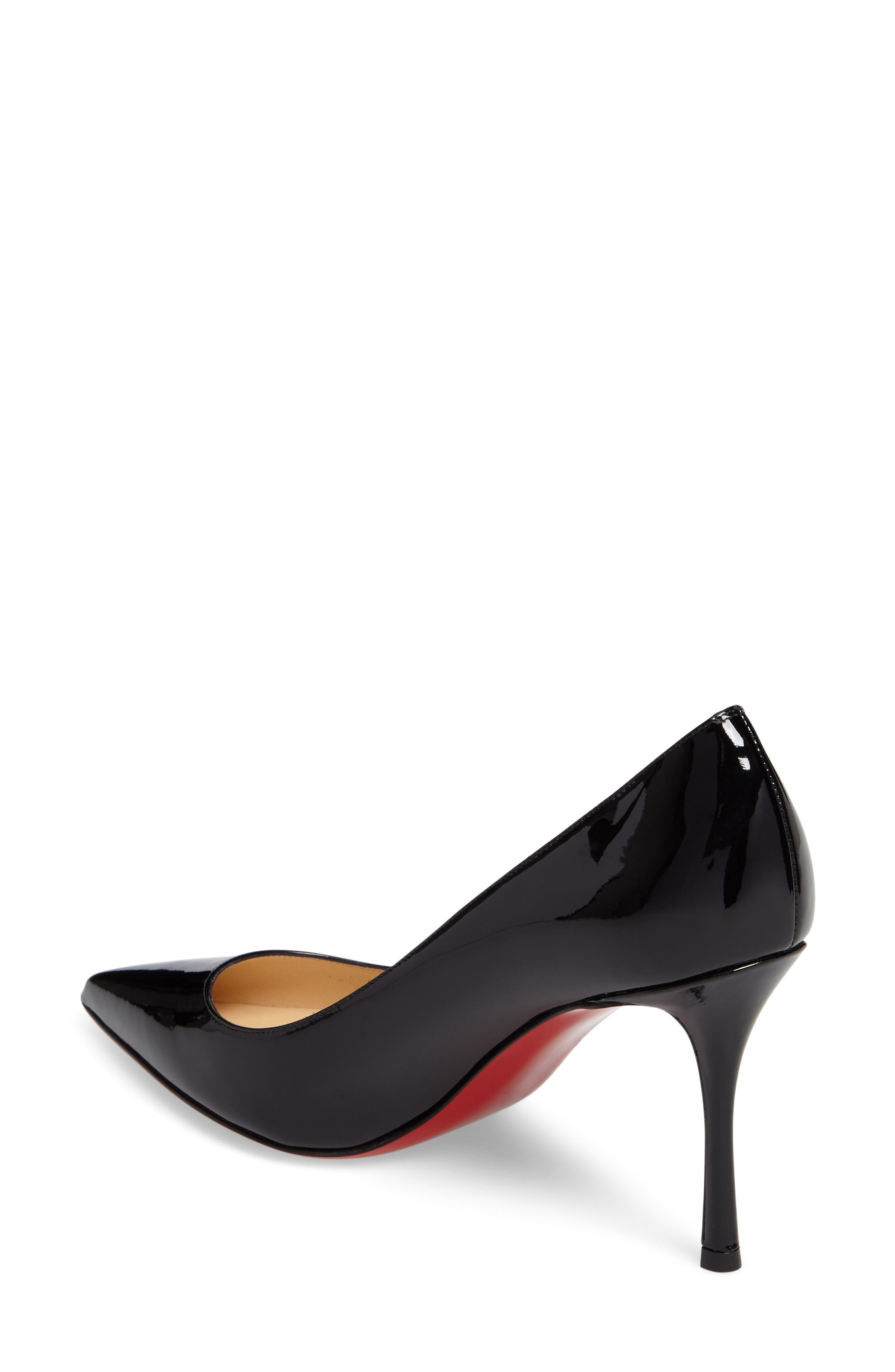 Decoltish Pointy Toe Pump,                             Alternate thumbnail 2, color,                             001
