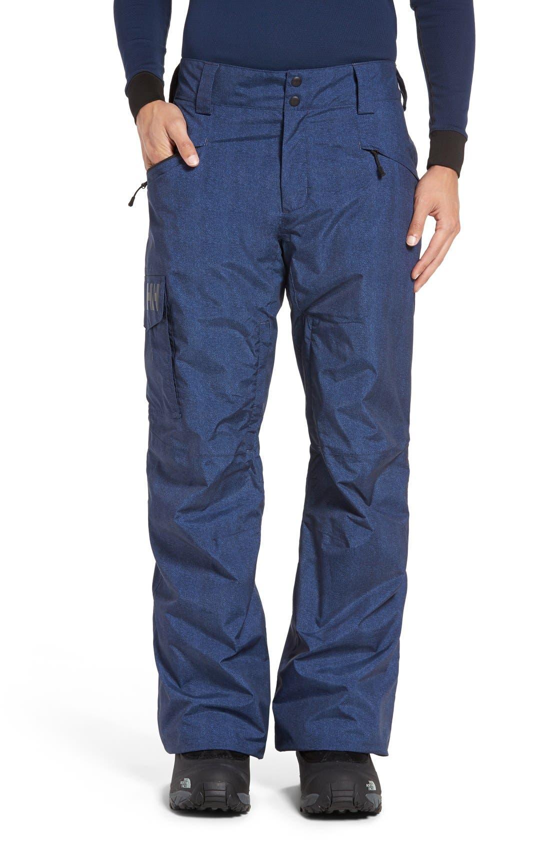 'Sogn' Waterproof PrimaLoft<sup>®</sup> Cargo Snow Pants,                             Main thumbnail 5, color,