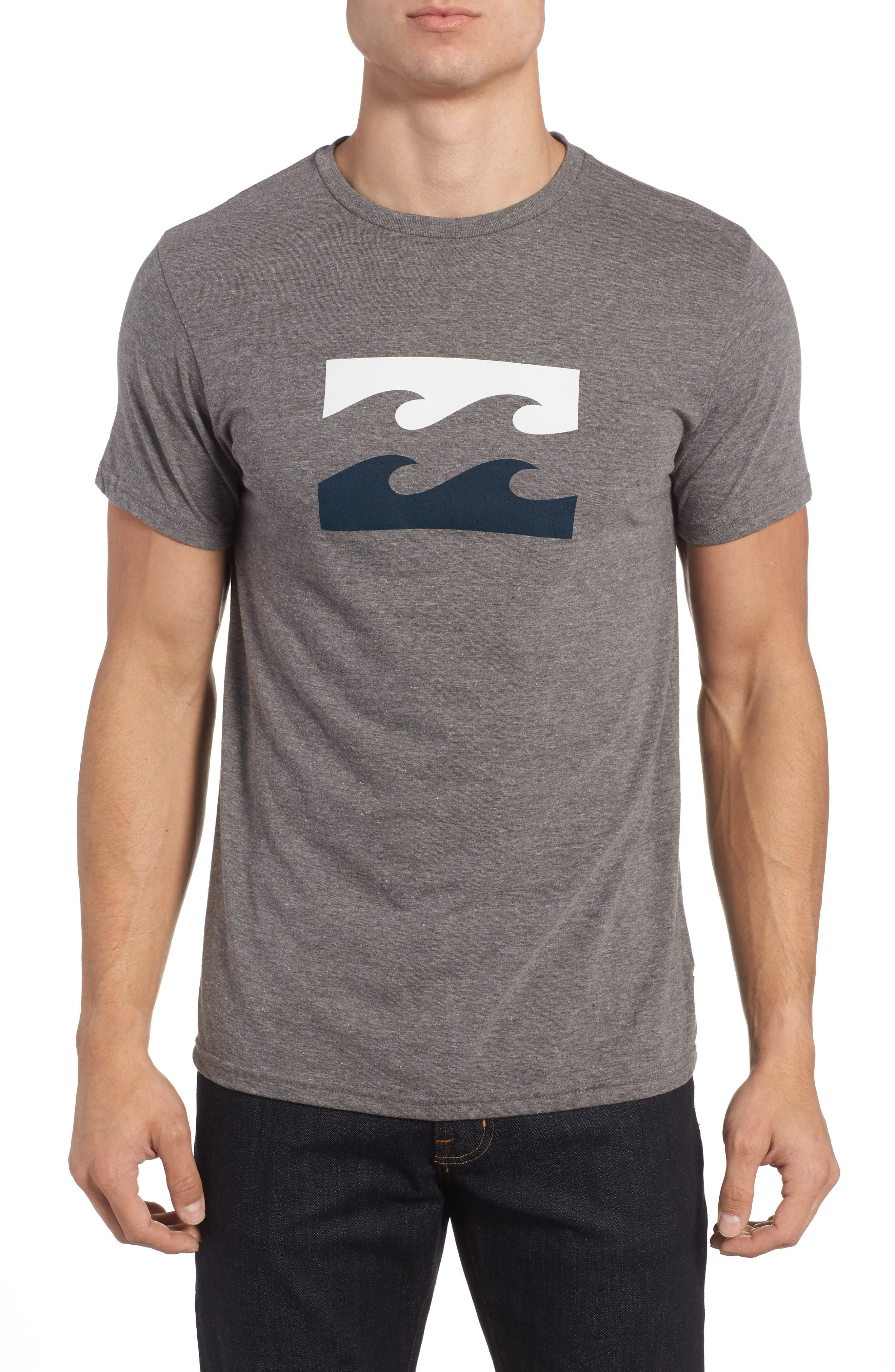 Wave Graphic T-Shirt,                             Main thumbnail 1, color,                             025
