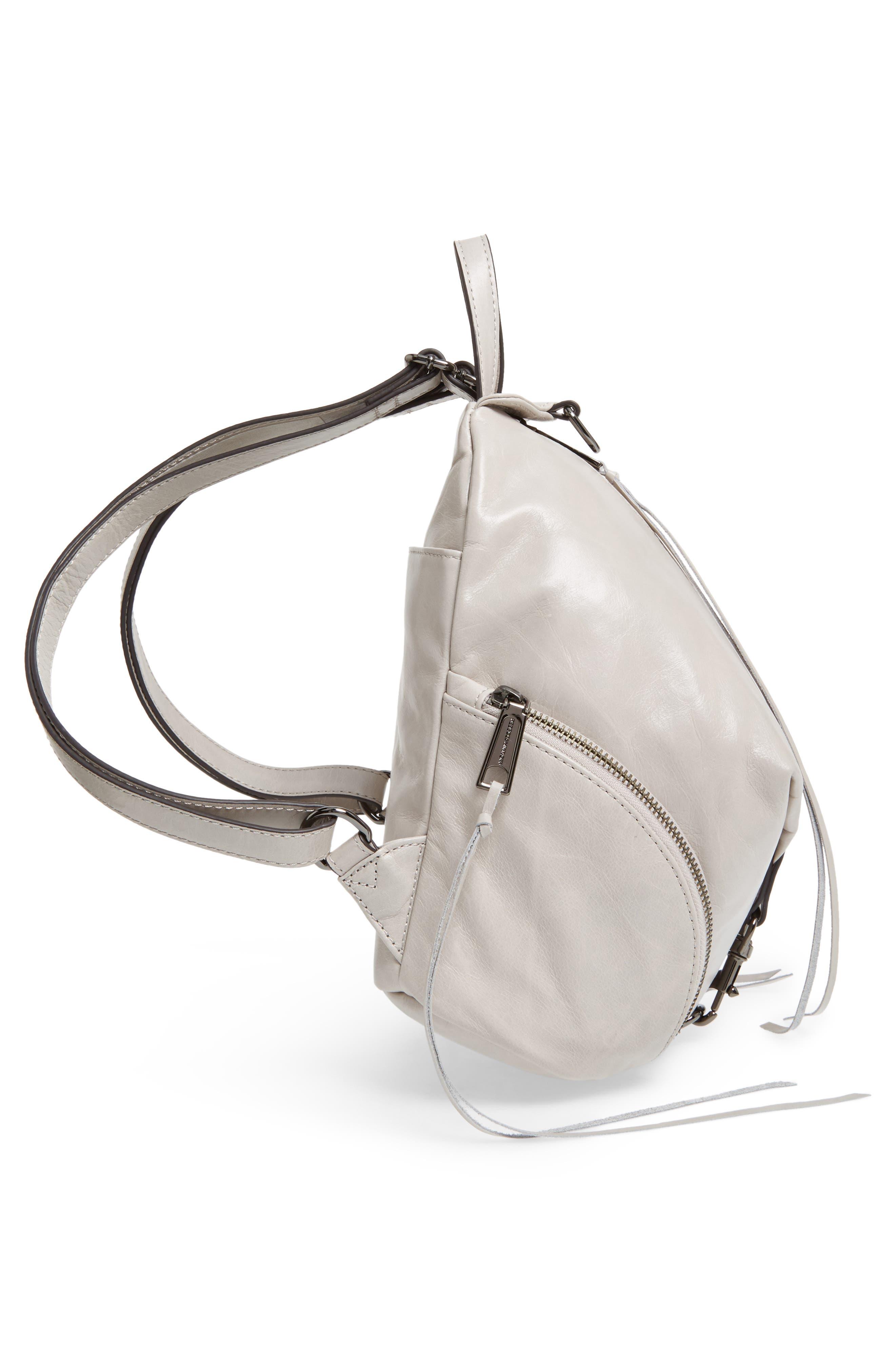 Medium Julian Leather Backpack,                             Alternate thumbnail 19, color,
