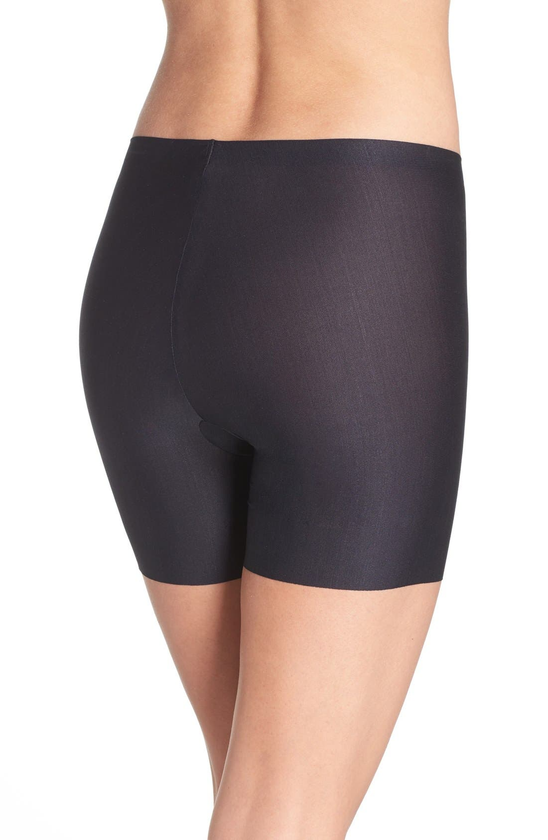 Body Base Smoothing Shorts,                             Alternate thumbnail 3, color,                             BLACK