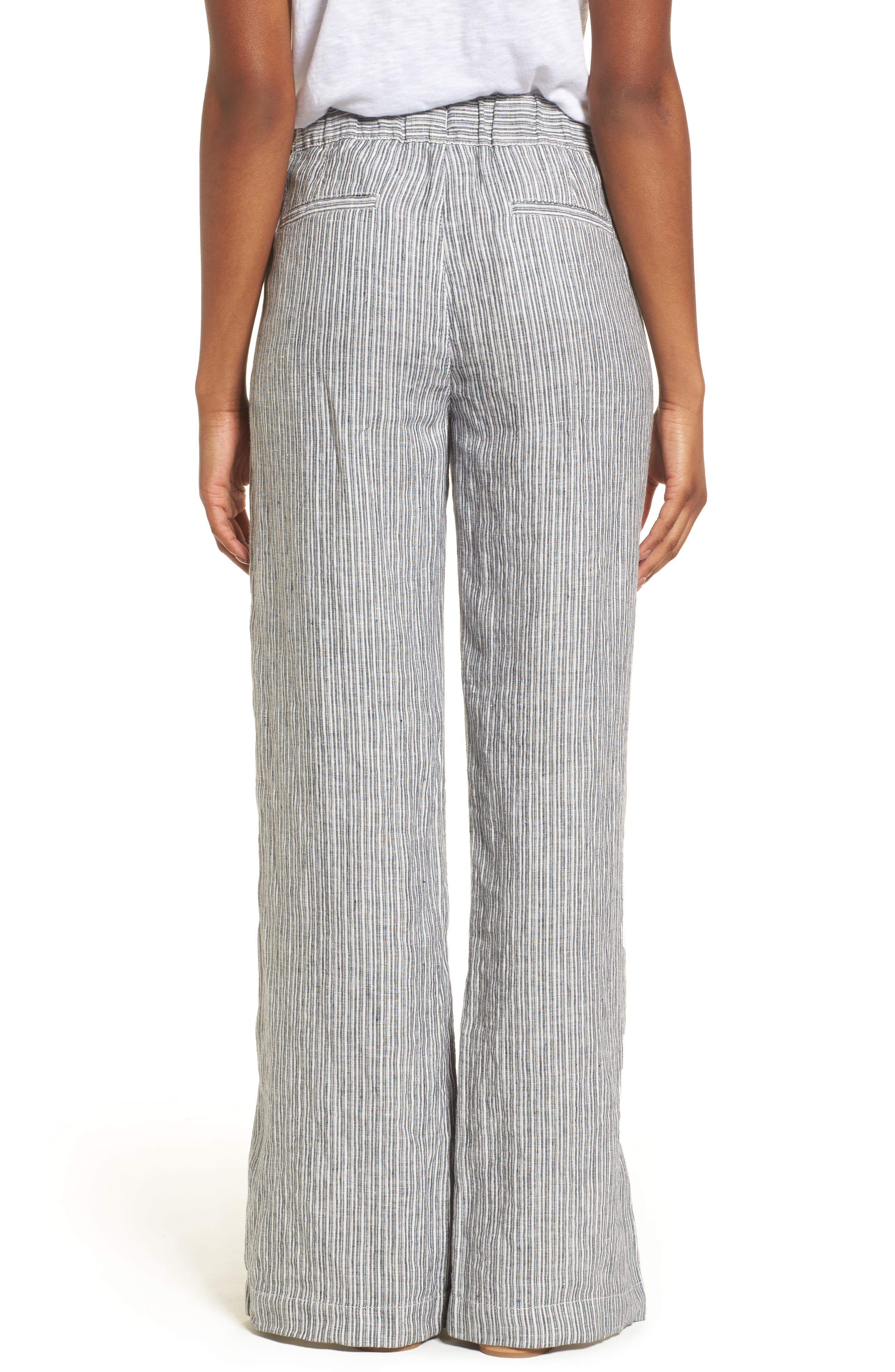 Linen Track Pants,                             Alternate thumbnail 10, color,