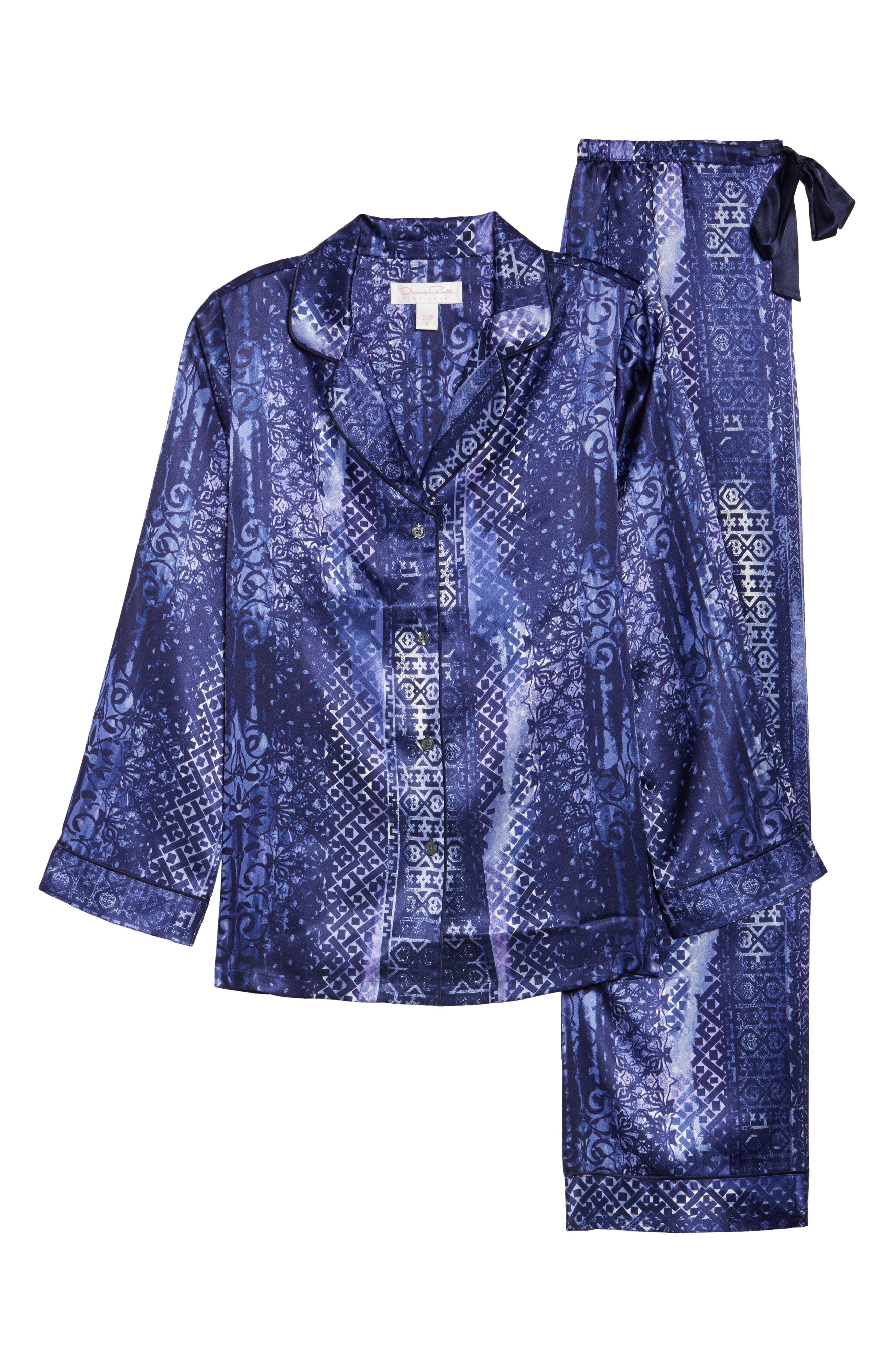 Sleepwear Charmeuse Pajamas,                             Alternate thumbnail 6, color,                             497
