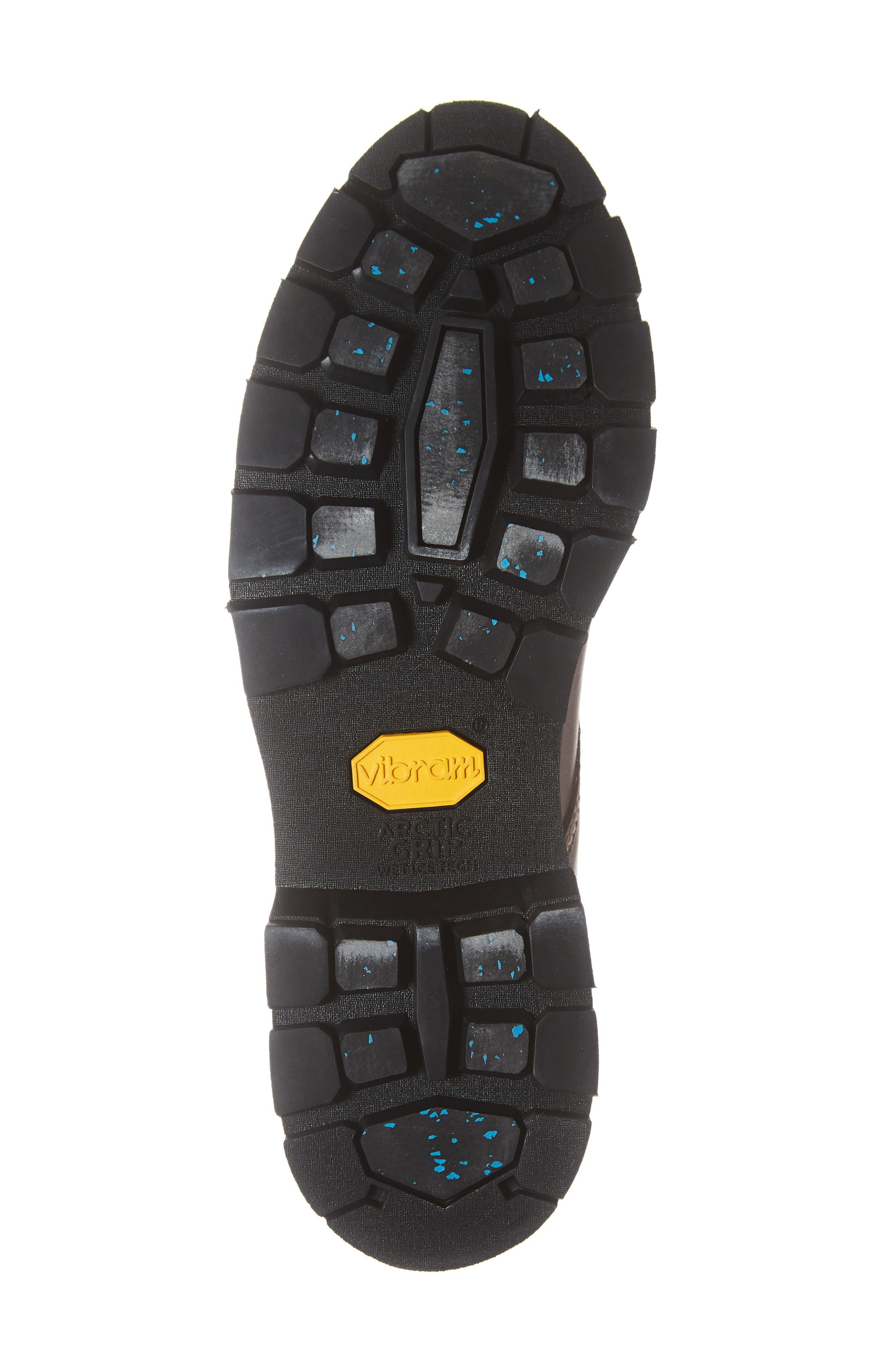 1,000-Mile Arctic Waterproof Plain Toe Boot,                             Alternate thumbnail 6, color,                             BROWN