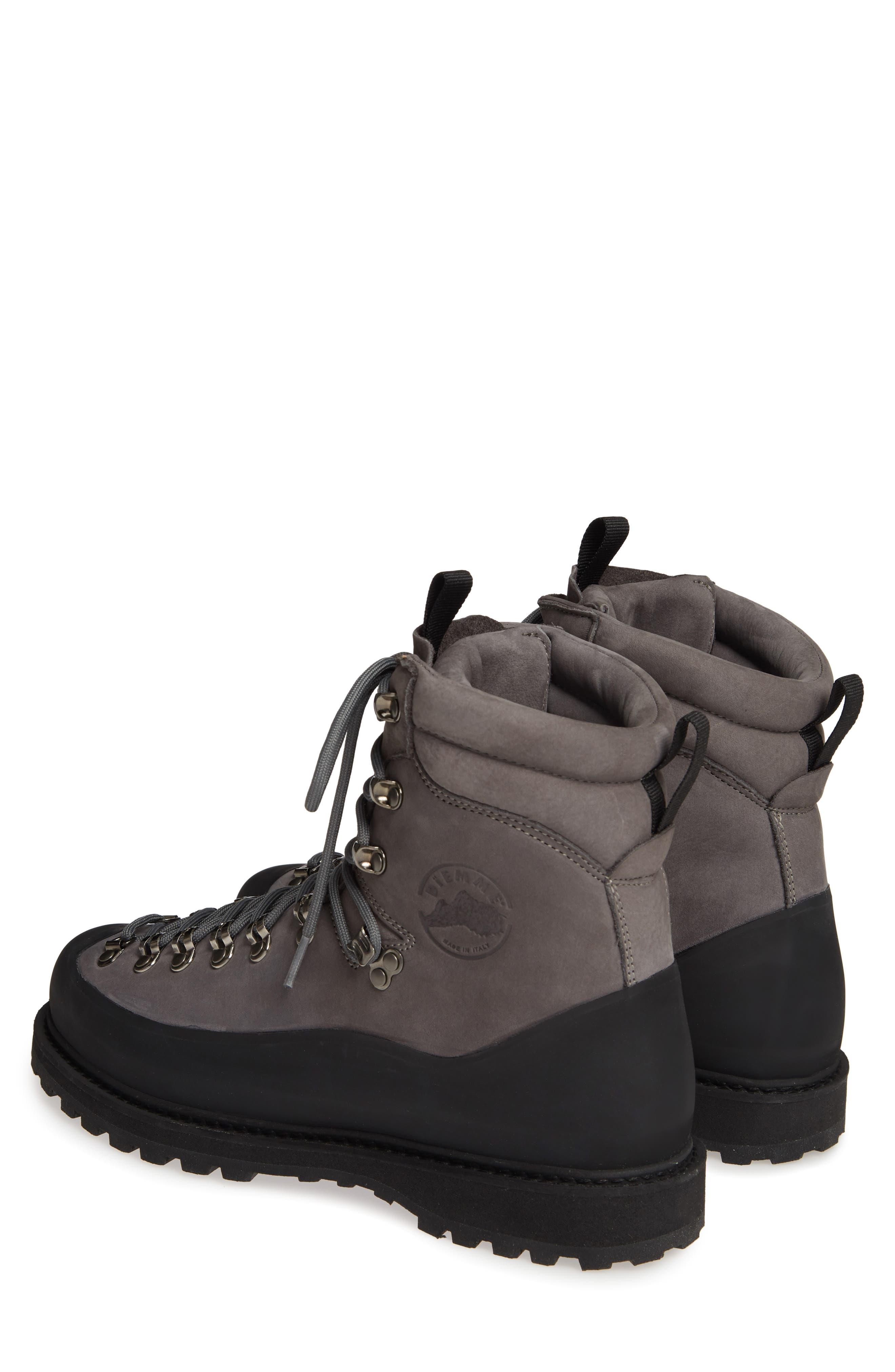 DIEMME,                             Everest Nubuck Boot,                             Alternate thumbnail 3, color,                             DARK GREY