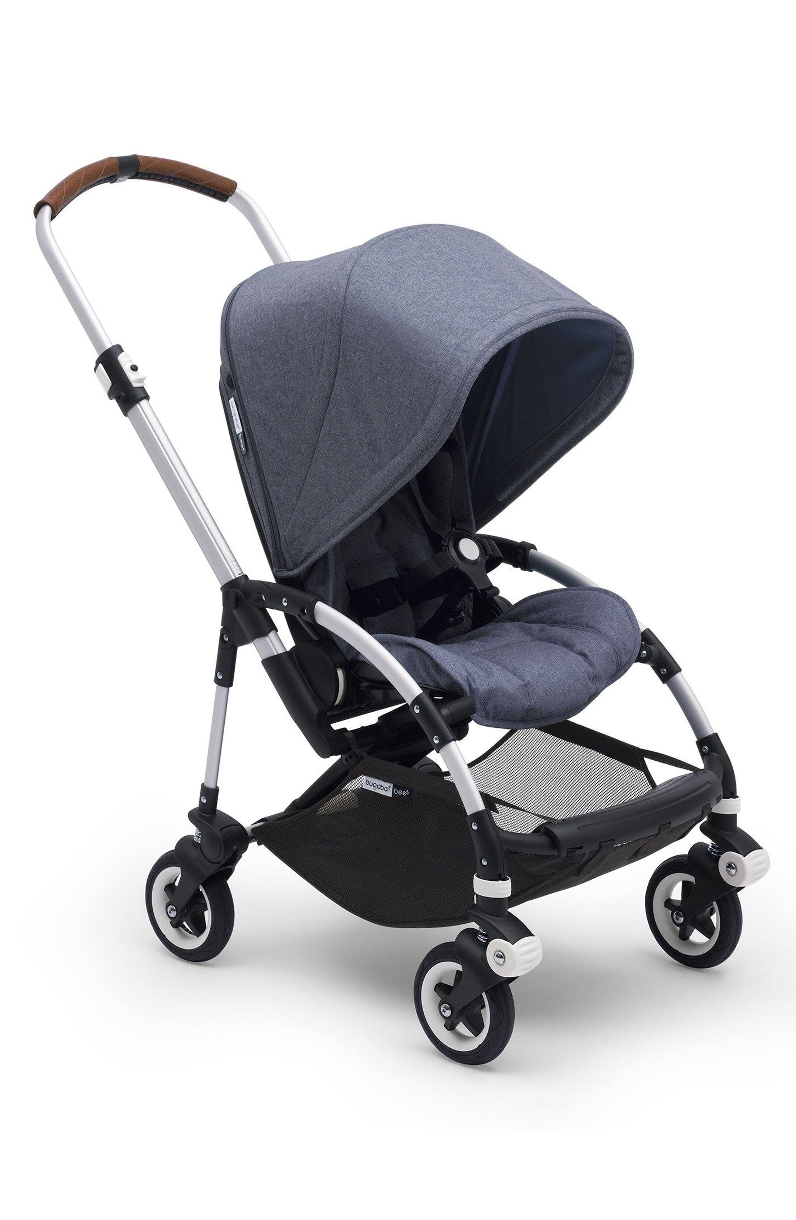 Bee5 Complete Stroller,                         Main,                         color, BLUE MELANGE