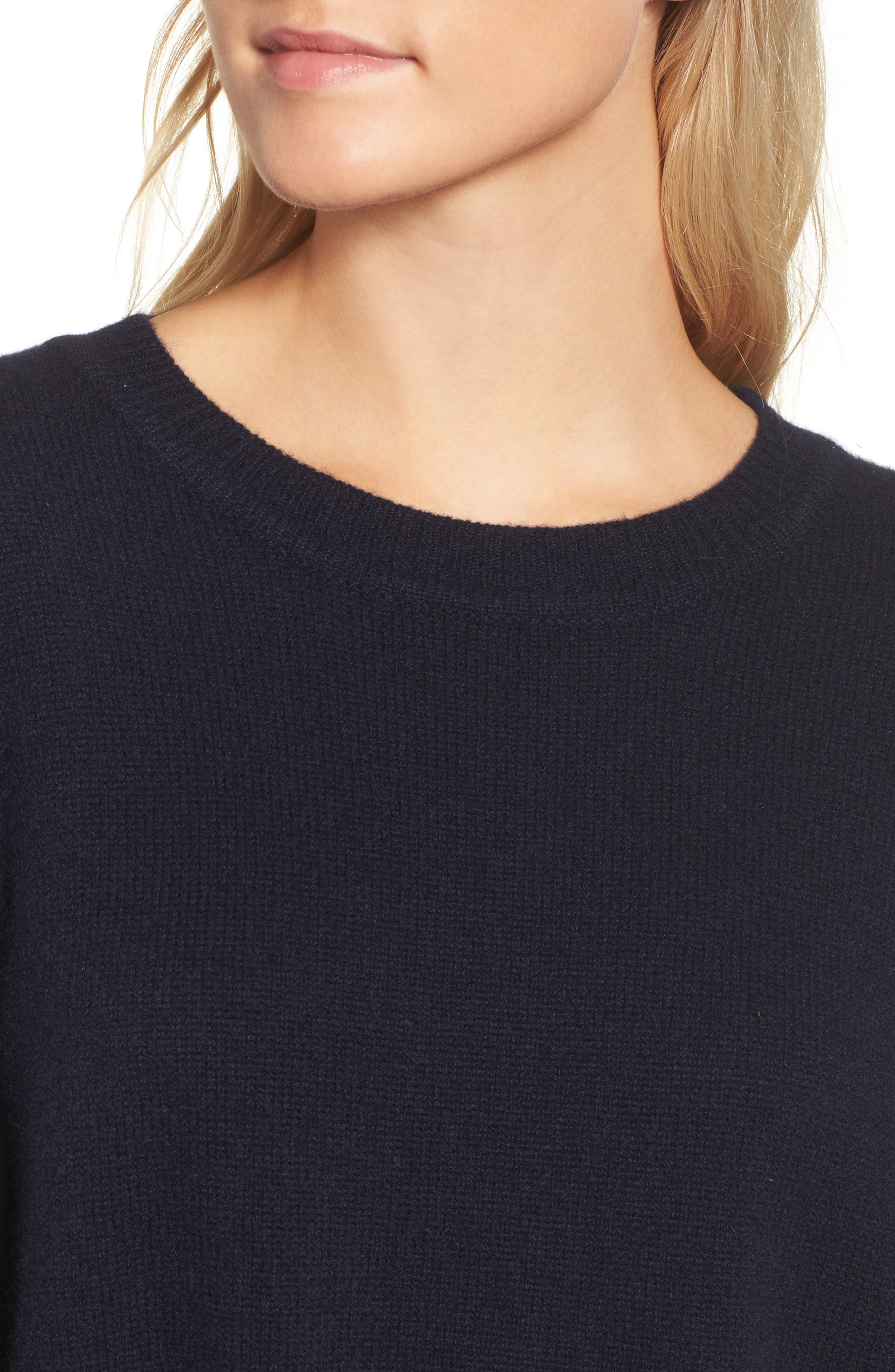 Oversize Cashmere Sweater,                             Alternate thumbnail 4, color,                             415